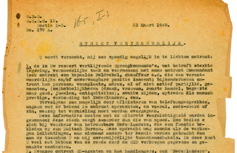 Het Bloemendaalse verzet koopt de Duitsers om en verhindert het opblazen van de sluizen bij IJmuiden