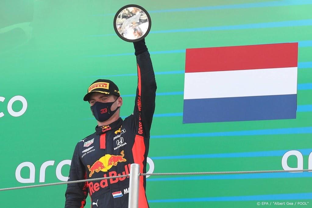 Ruim miljoen mensen zien Max Verstappen podiumplek pakken