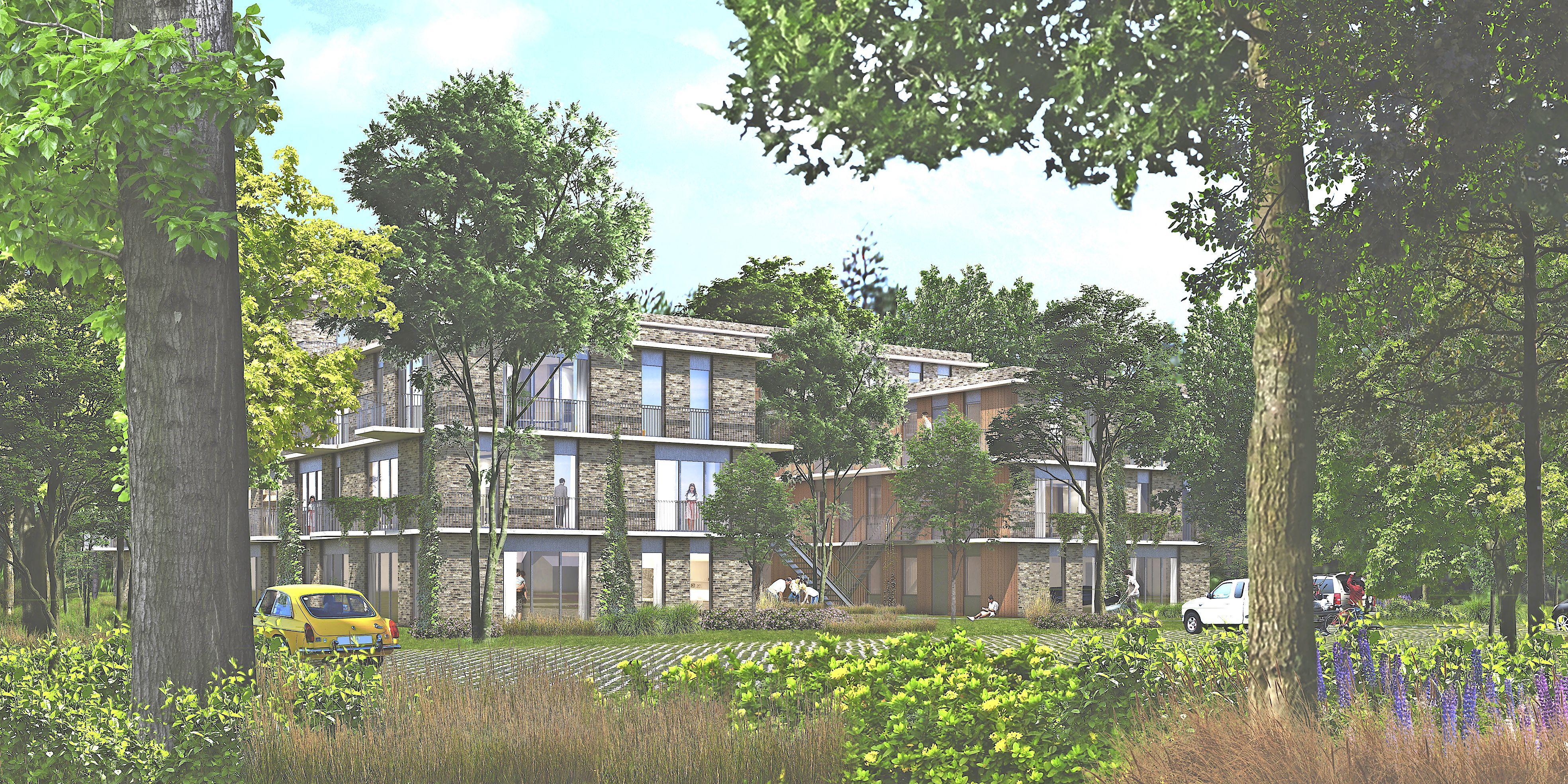 Concrete plannen: bijna tweehonderd sociale woningen in drie jaar in Heiloo erbij