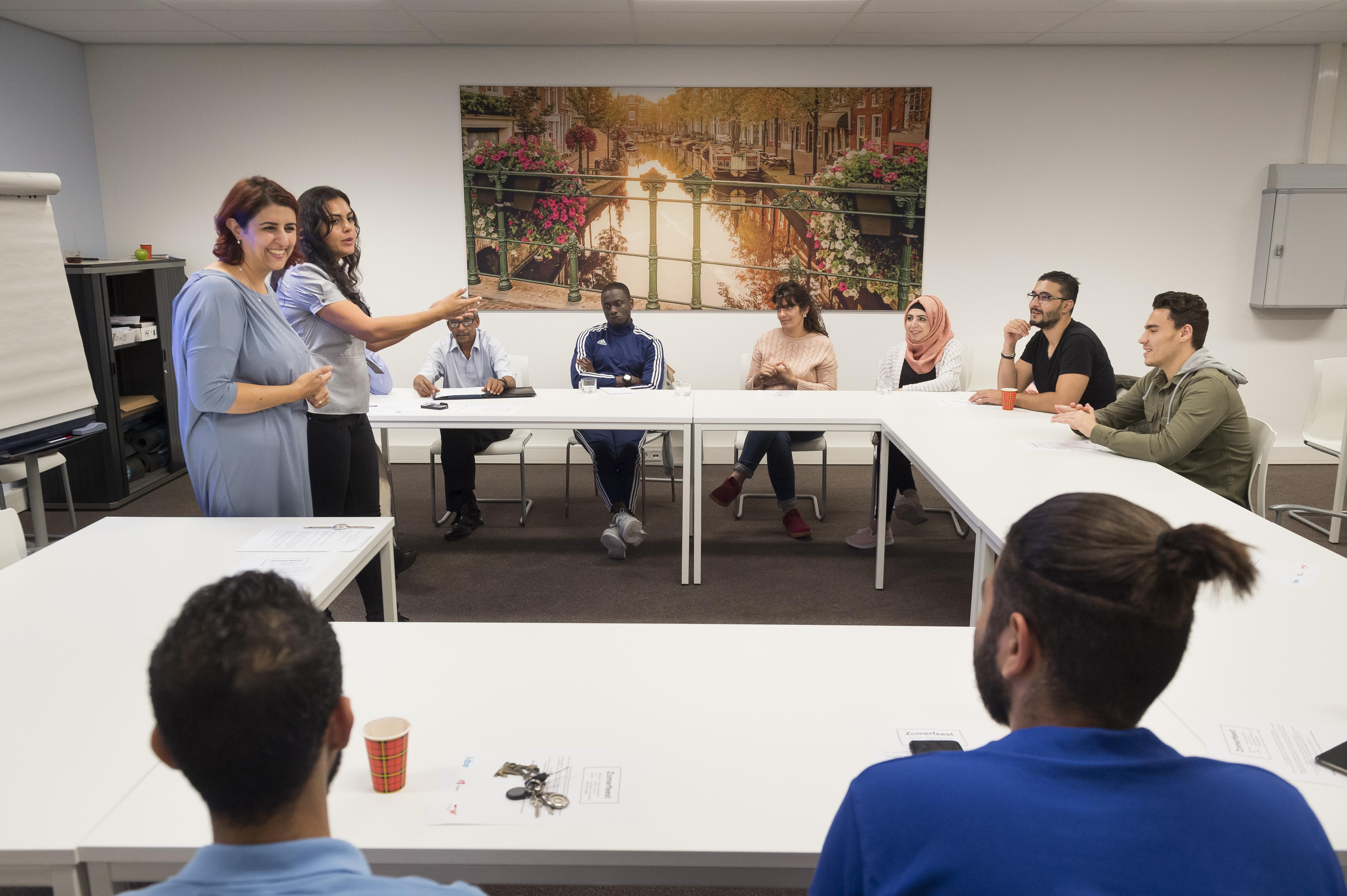 Ruim 80 procent van statushouders in regio Alkmaar heeft werk of volgt opleiding na integratieprogramma