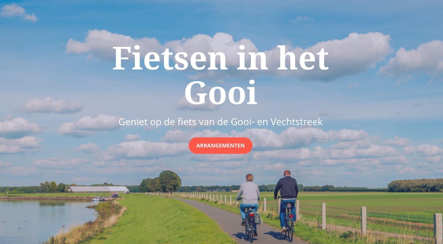 Het roer om na corona: Een Gooise fietswebsite en een podcastbedrijf