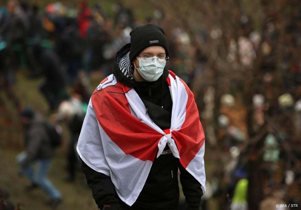 Politiegeweld bij protesten tegen Loekasjenko in Wit-Rusland