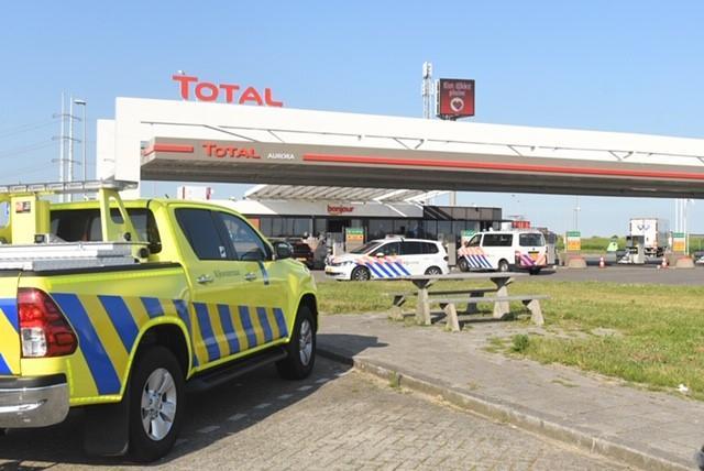 Man aangehouden voor mishandeling in auto op A4 bij Leiderdorp