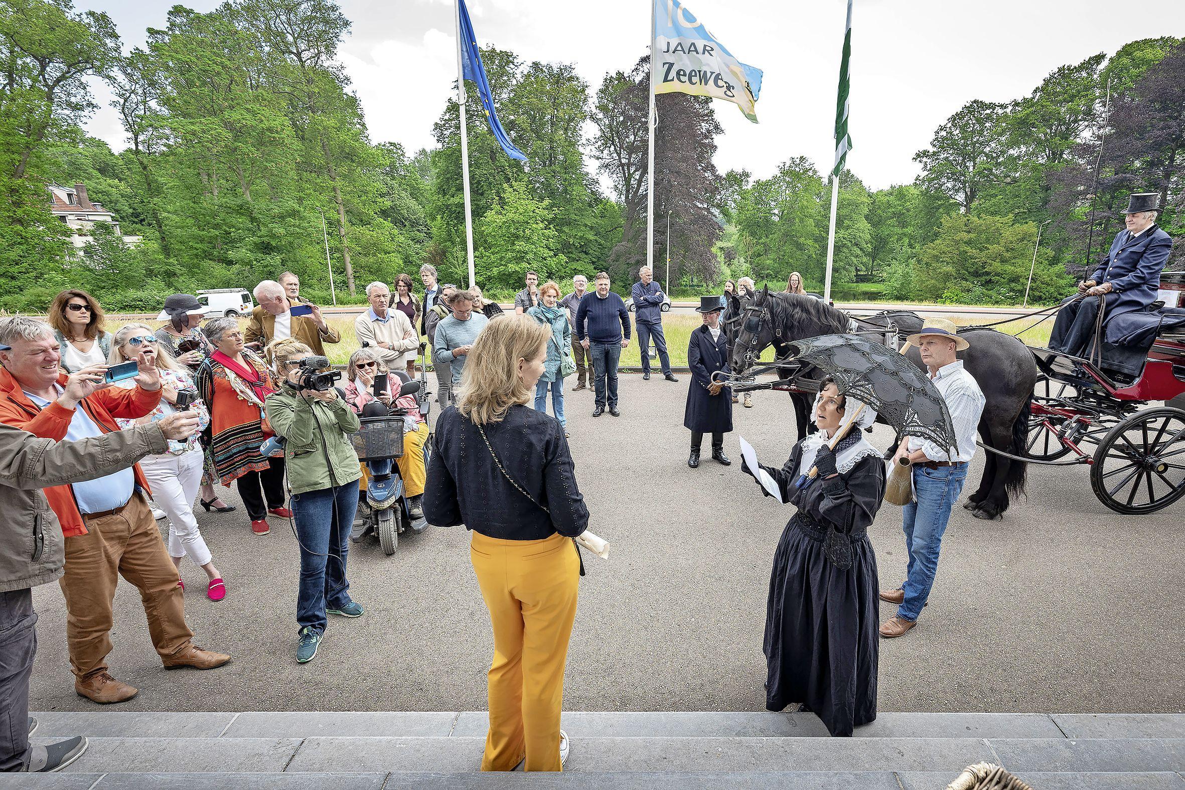 Muziektheater over Johanna Borski op Elswout van de baan. 'We zoeken verder in de regio Haarlem'