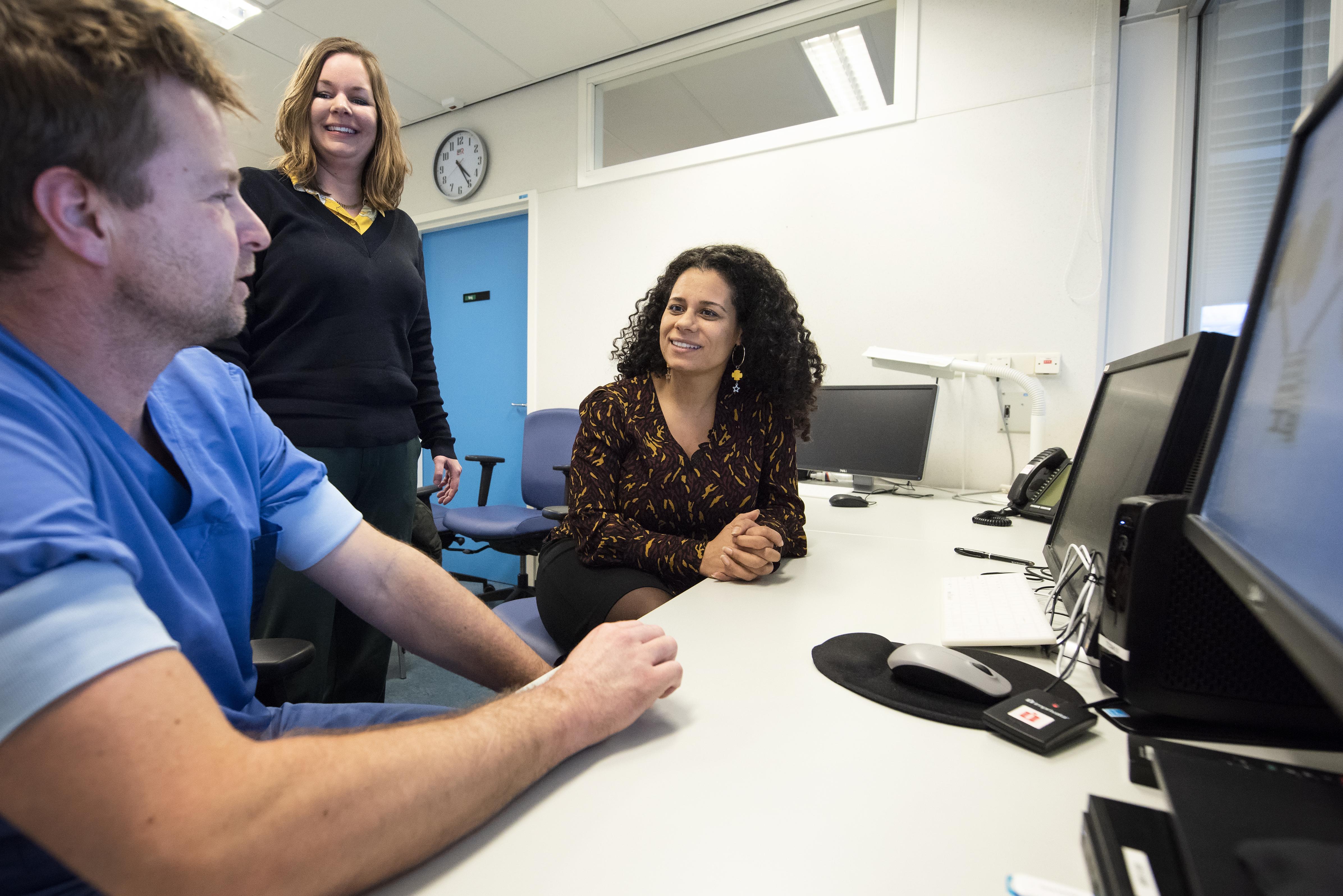 De kost gaat voor de baat uit in e-health van het Rode Kruis Ziekenhuis in Beverwijk