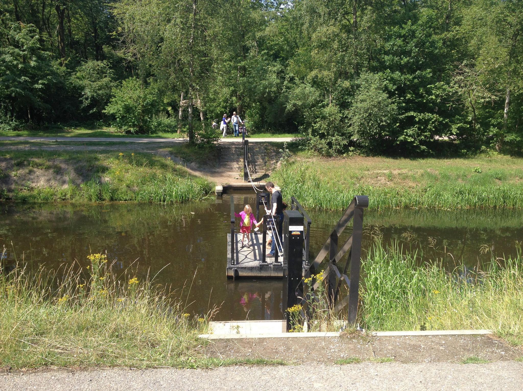 Trekpont bij Julianapark krijgt steun in initiatief wandelroutes