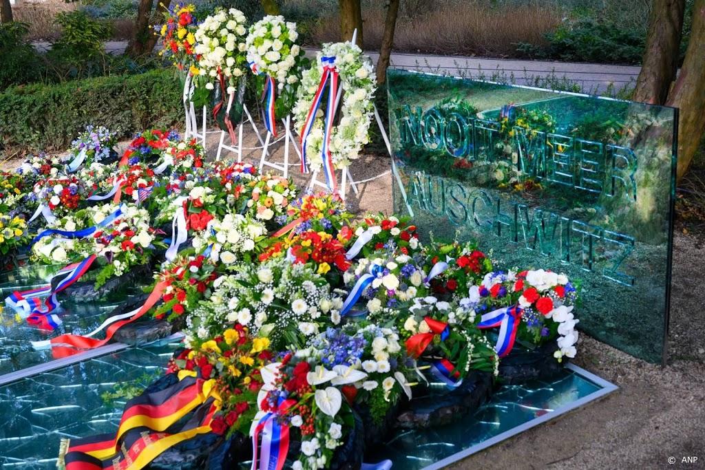 Holocaust in Amsterdam coronaproof herdacht
