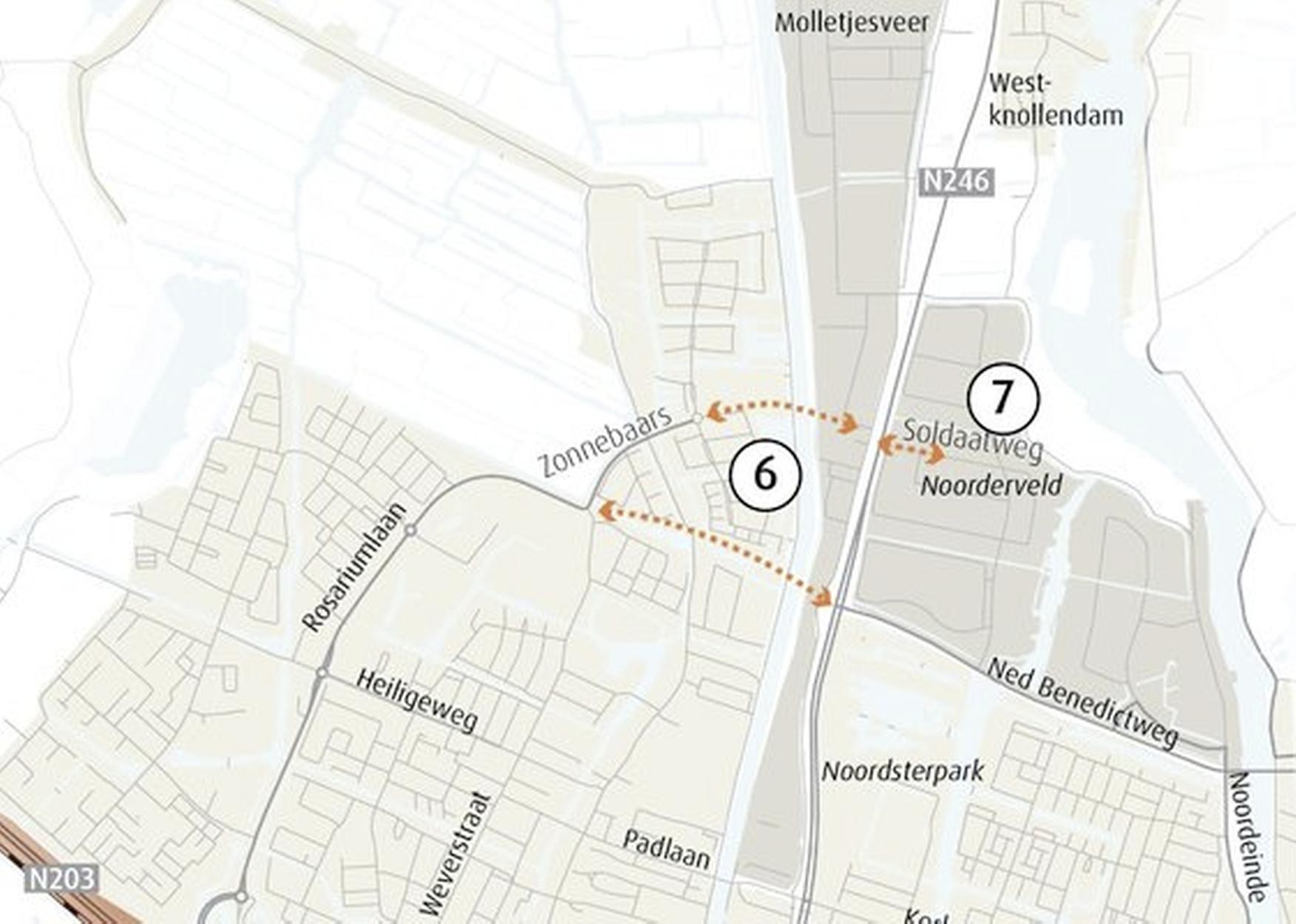 Petitie tegen extra brug over Nauernasche Vaart bij Krommenie al driehonderd keer getekend