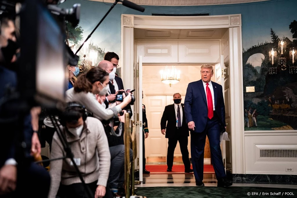 Trump: lastig verkiezingsfraude voor Hooggerechtshof te krijgen