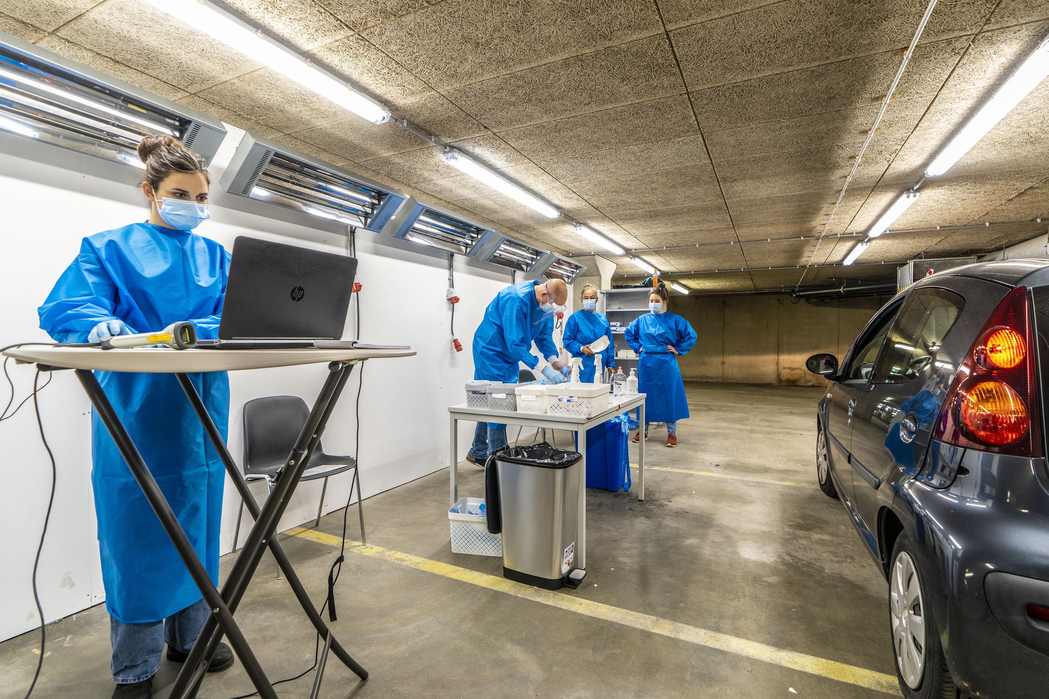 Leiden opent grootste indoor teststraat van Nederland: 'Ook bij -5 graden goed te doen'