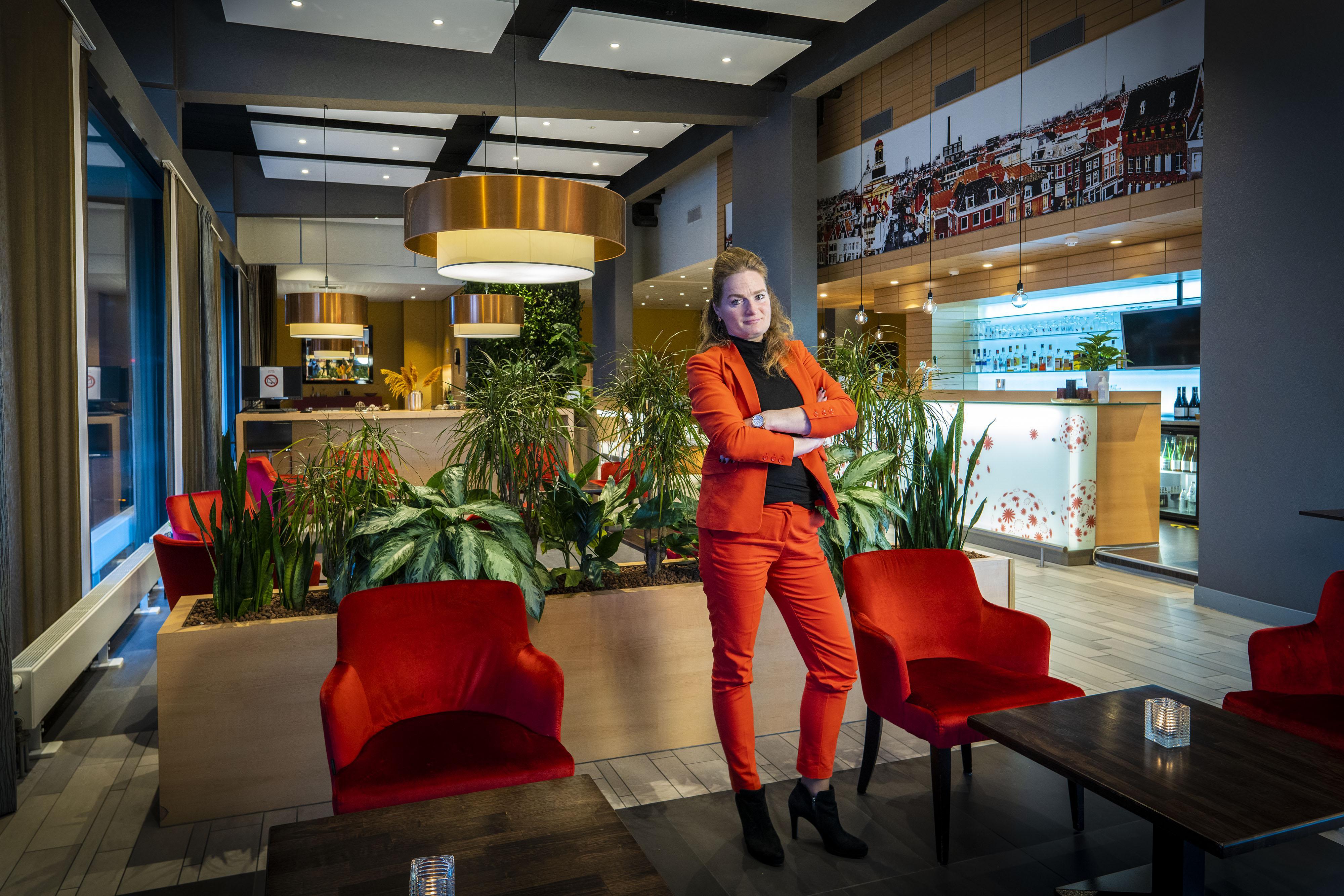 Leontine Groenendijk, aan de top in het door mannen gedomineerde hotelwezen: 'Mensen maken het verschil, niet die kamer'