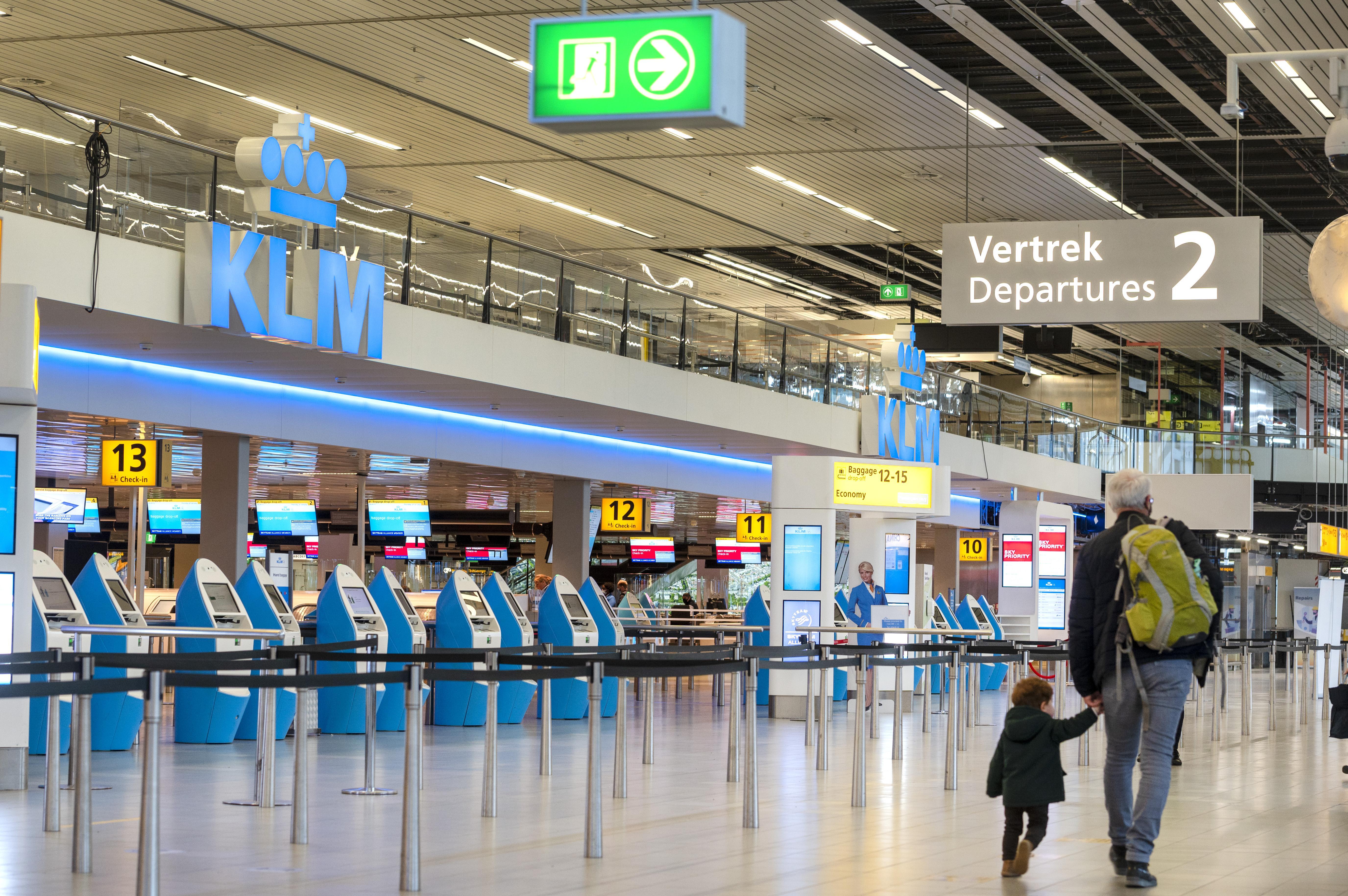KLM werkt aan 'logistieke puzzel', lange vluchten vertrekken nog