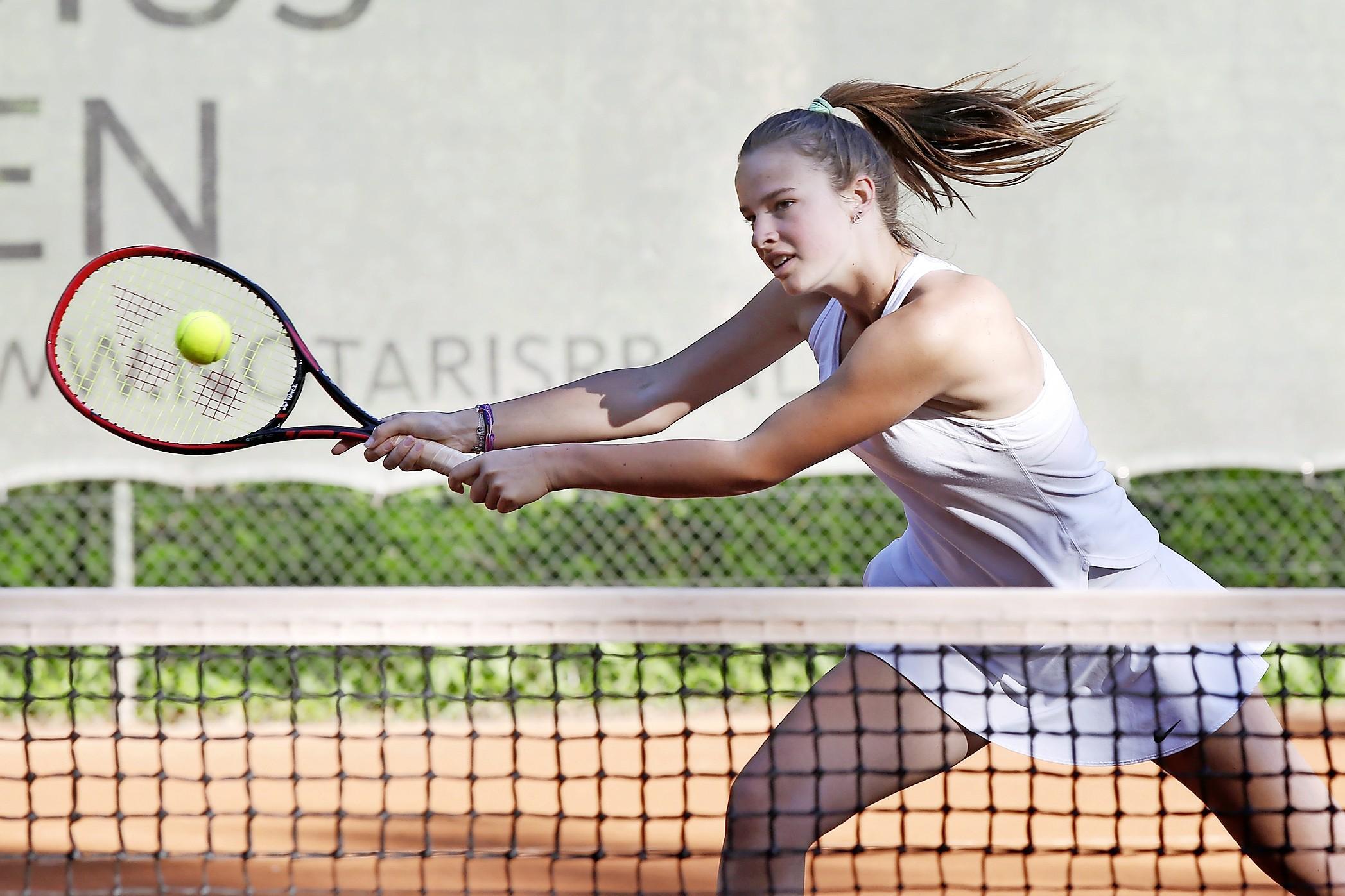 Tennistalent Isabelle Haverlag: 'Ik word niet gepusht'