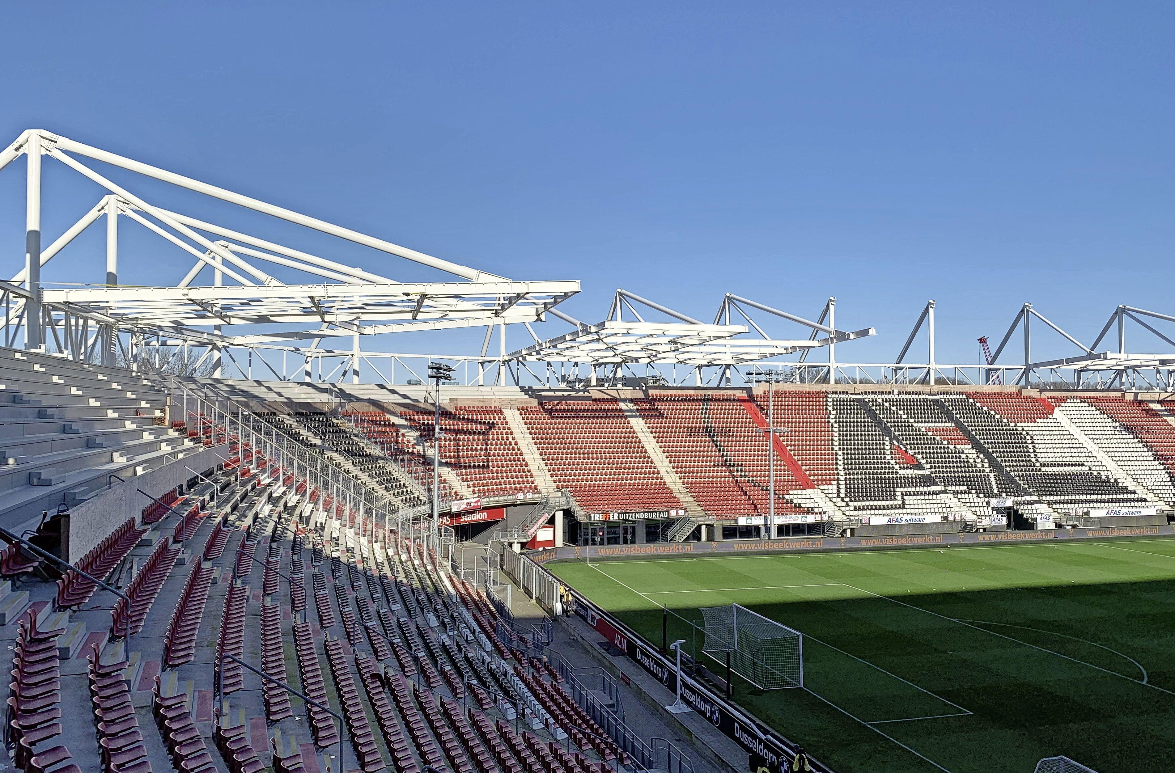 We kunnen wel stellen dat het stadion van AZ een flinke upgrade krijgt | column Brian Wijker