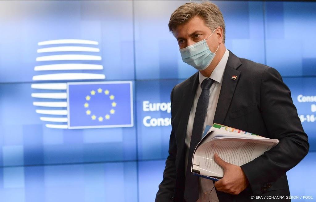 Premier Kroatië in quarantaine wegens besmette echtgenote