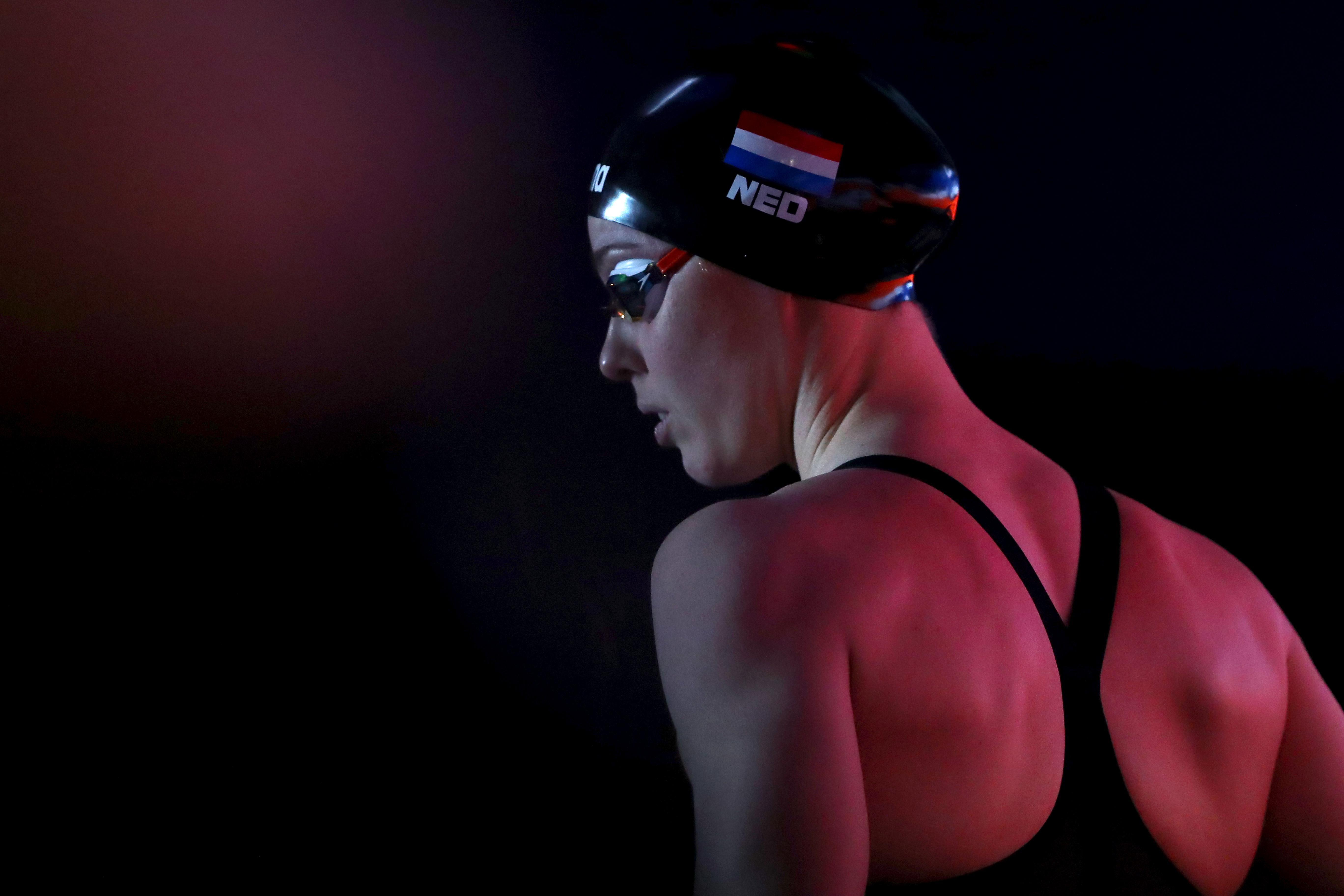 Moment van de waarheid breekt aan voor zwemster Femke Heemskerk: kan ze in Eindhoven het ticket voor Tokio afpakken van Valerie van Roon?