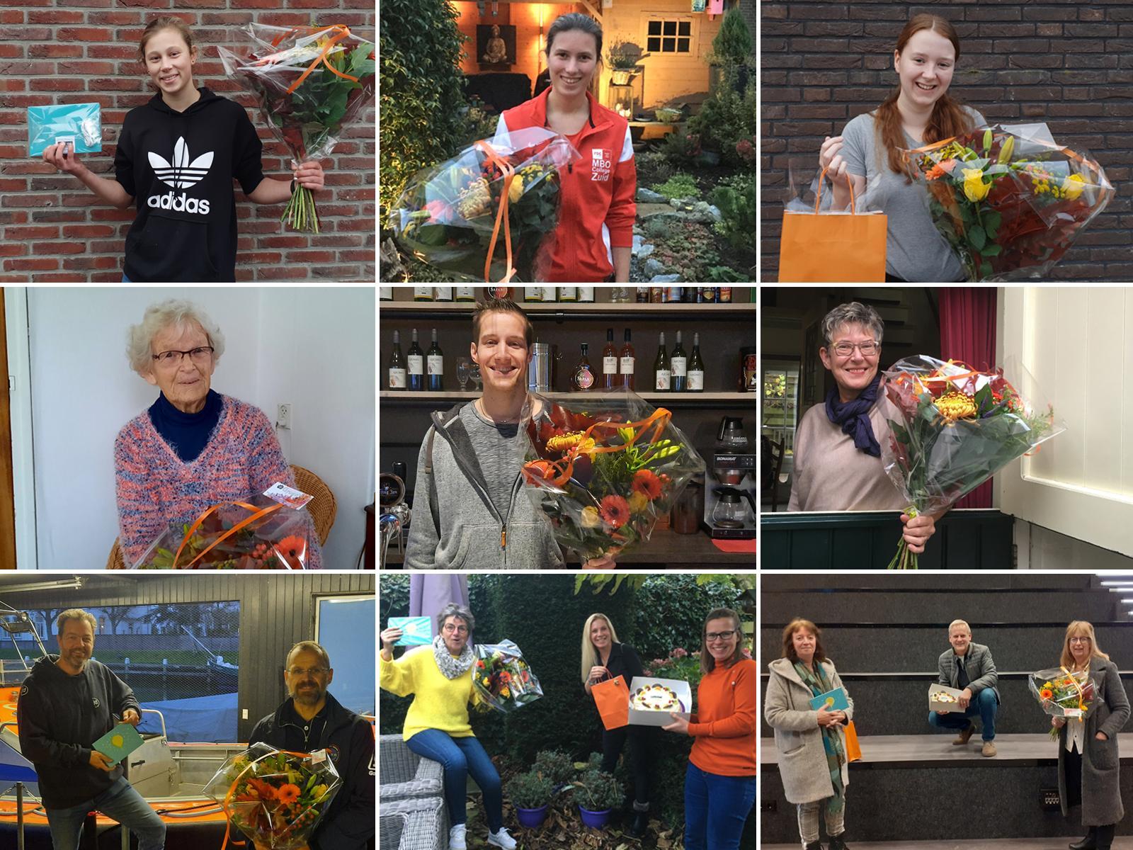 Genomineerden voor de Vrijwilligersprijs Medemblik 2020 zijn bekend en stellen zichzelf voor. Van jonge dierenverzorgster tot het plaatselijke KNRM-station [video]