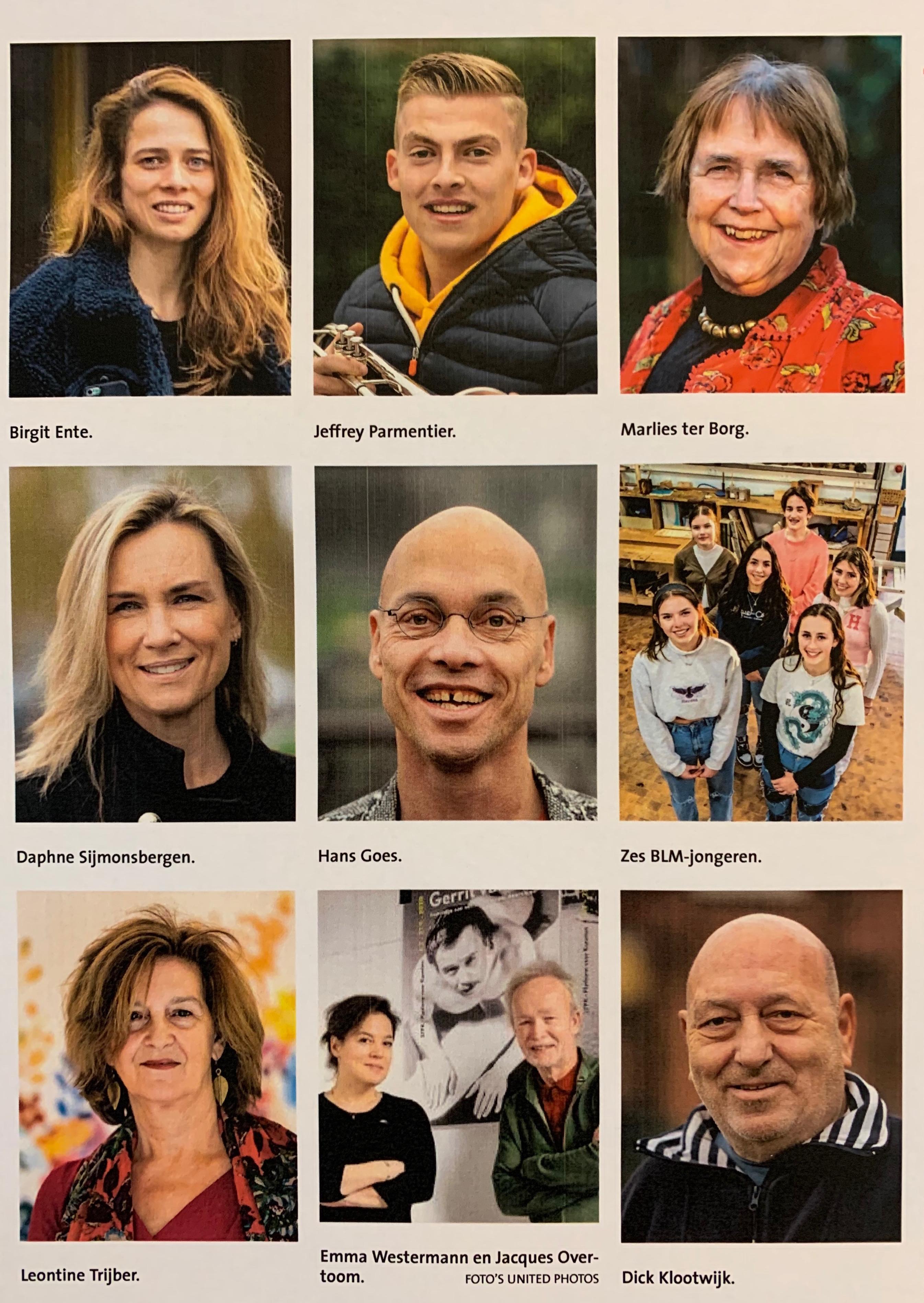 Wie wordt Persoon van 2020? Dit zijn de negen kanshebbers uit Haarlem en omgeving die de meeste indruk hebben gemaakt