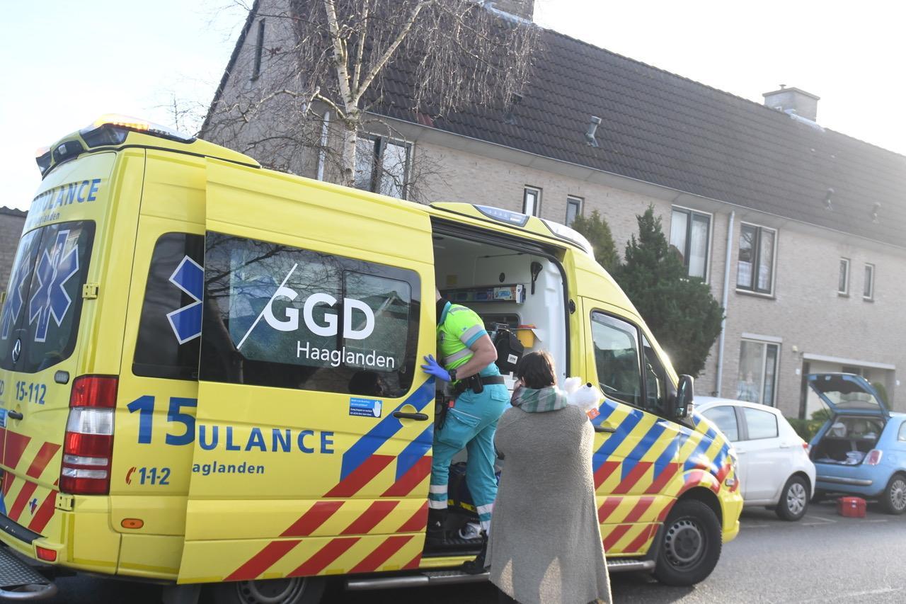 Vrouw gewond bij chemische reactie in de gootsteen in Wassenaar