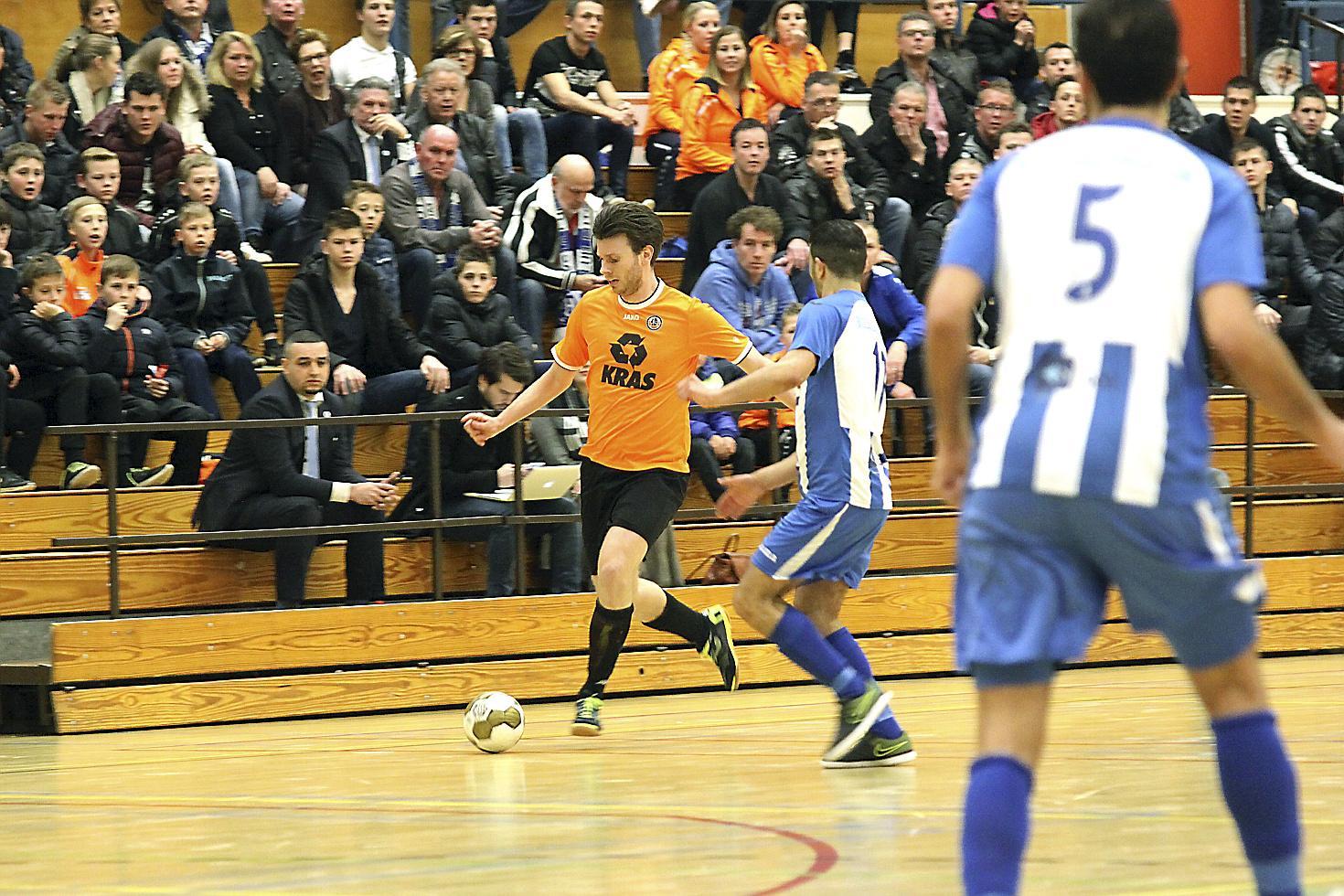 Kevin Mühren (ZVV Volendam): 'Uiteindelijk win je een wedstrijd met doelpunten, niet met panna's'