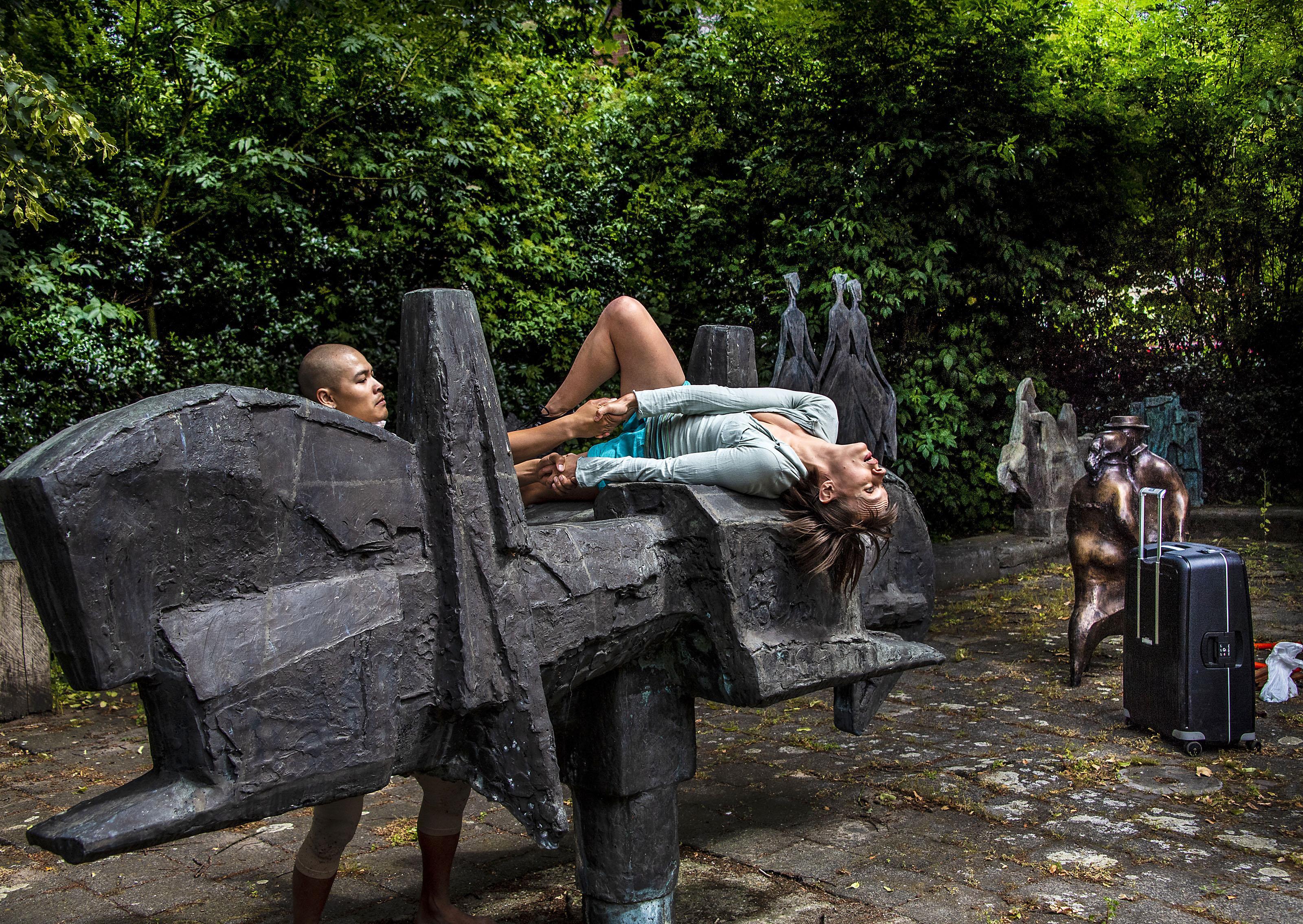 Kunstzinnige wereld achter voordeuren Broek in Waterland