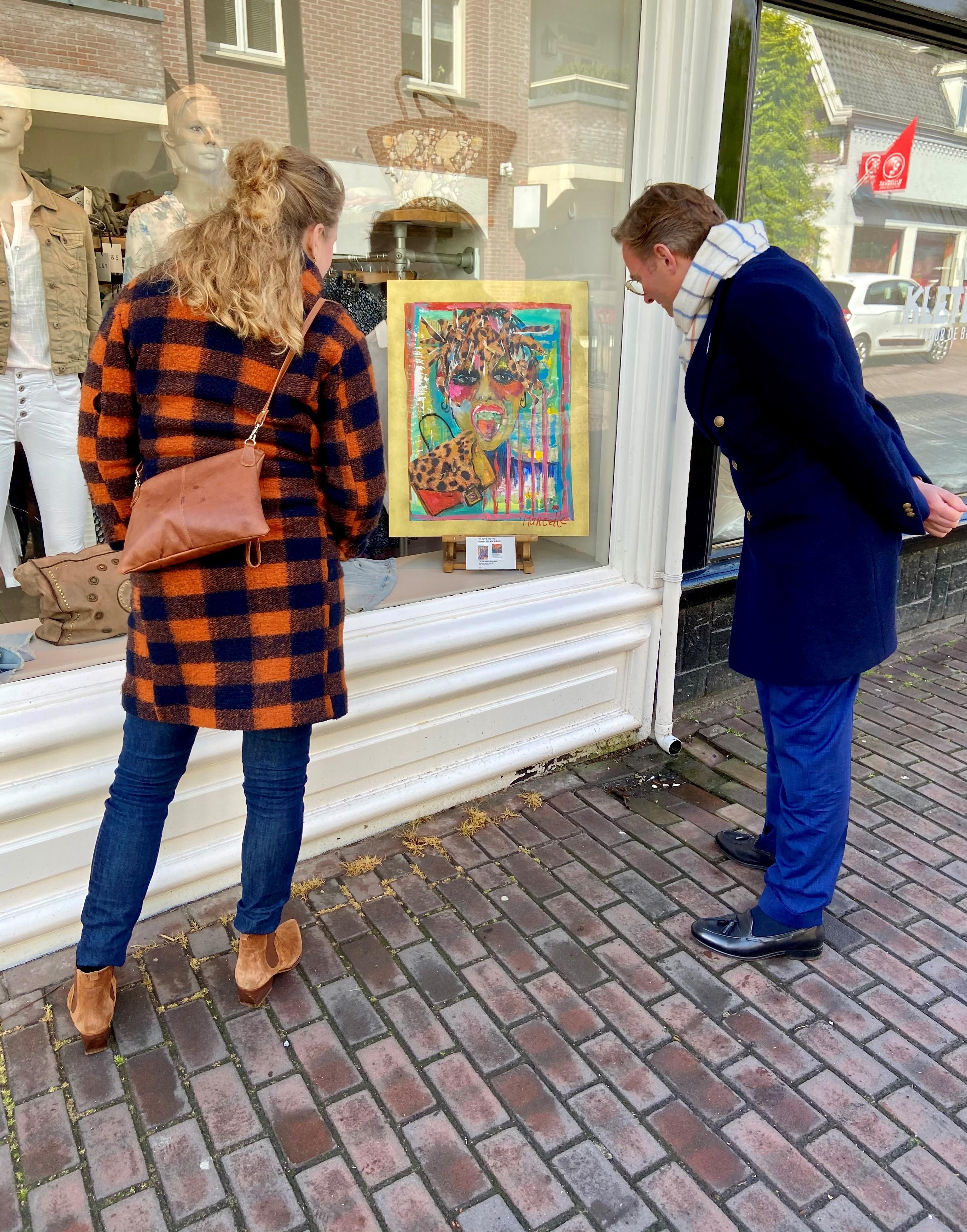 Kunstwandelroute door het centrum van Laren rond 'Vrij zijn': 'Het voorrecht om vooral jezelf te kunnen zijn, dat is vrijheid'