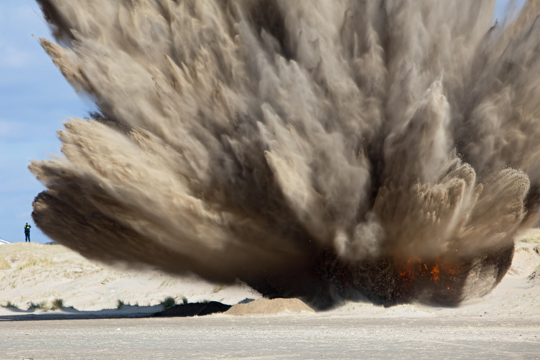Oude explosieven kosten Velsen bijna twee ton