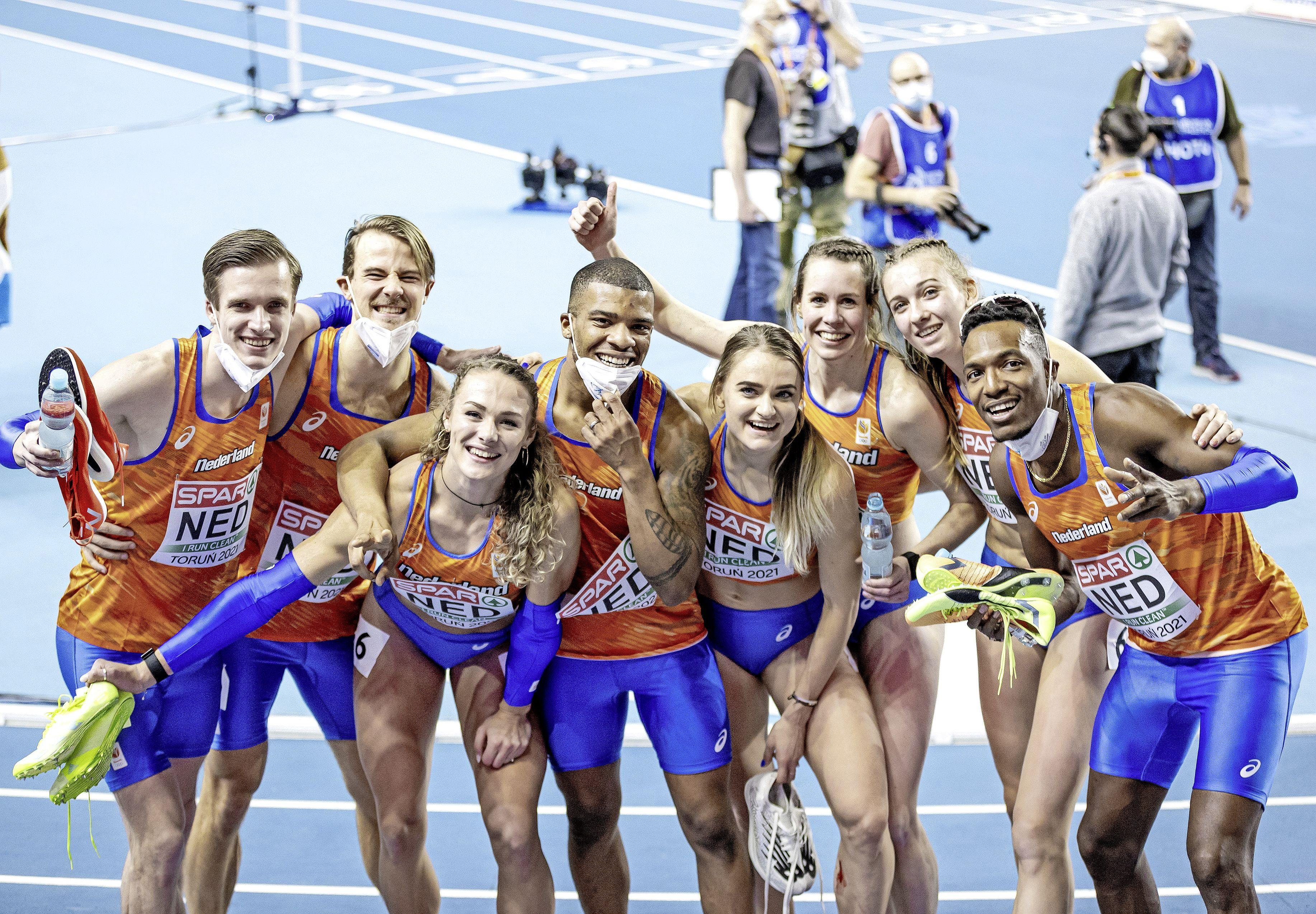 Nederlandse atletiekploeg wint medailleklassement bij EK indoor. De sleutel tot het succes is de 400 meter