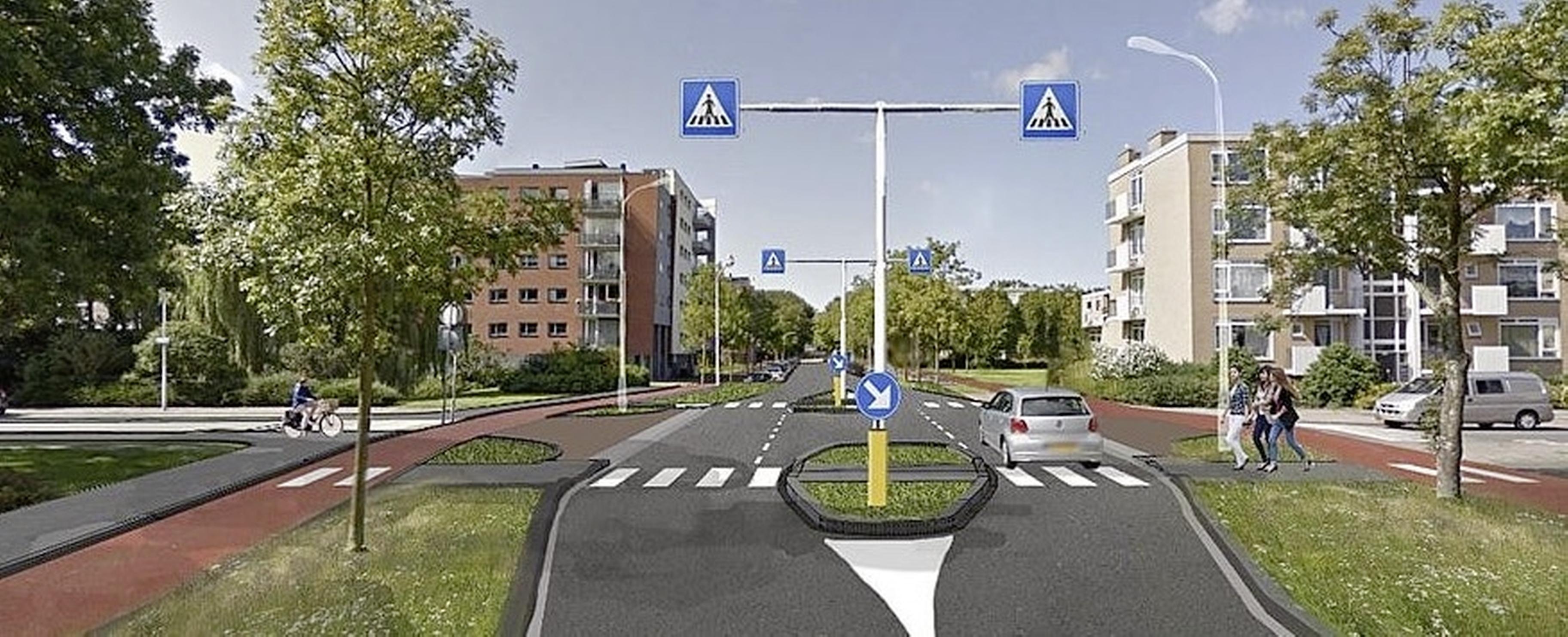 Gevaarlijkste kruising van Leiden gaat dit najaar op de schop