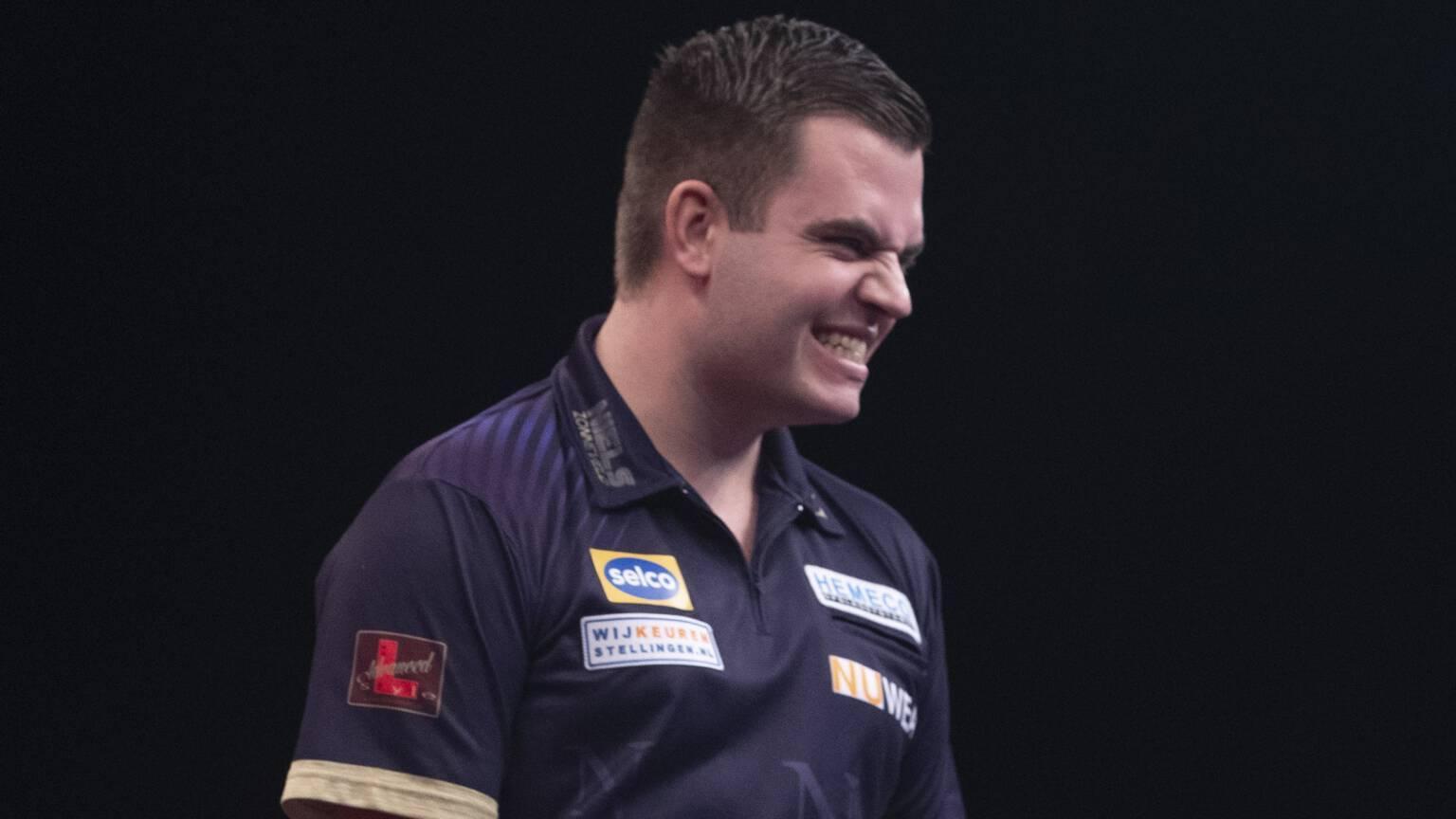 Niels Zonneveld mag zijn debuut maken op WK darts. Maar geen carnavalsfeer met dronken Engelsen in 'Ally Pally', de fans moet dit jaar hun mond houden
