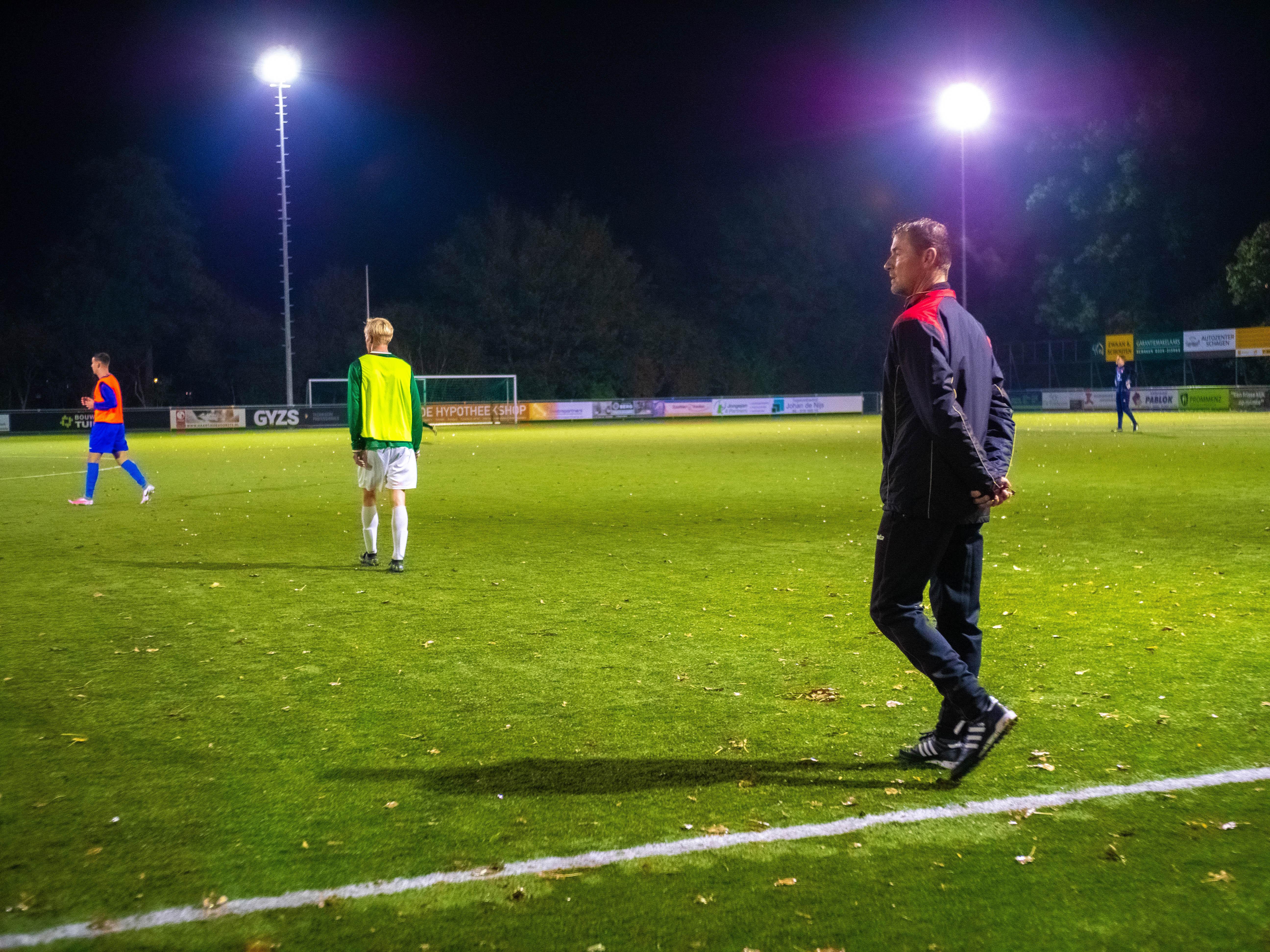 Martijn Gootjes uit nieuwsgierigheid trainer bij Schagen United: 'Dat kan over aantal jaren toonaangevend in regio zijn'