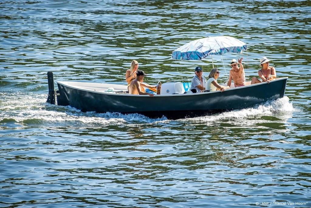 Recordreeks van zeven tropische dagen in De Bilt