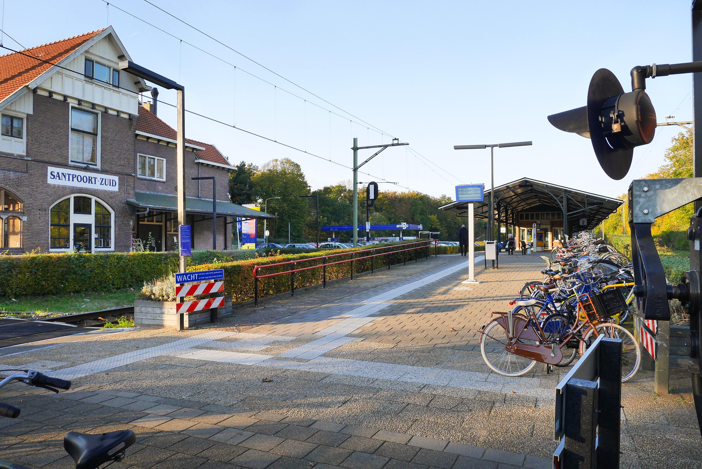 Station Santpoort-Zuid populairste in Noord-Holland, Den Helder-Zuid het minste