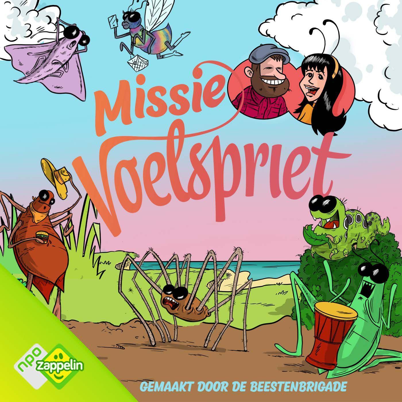 Podcast: Missie Voelspriet, mooi gemaakt kinderhoorspel