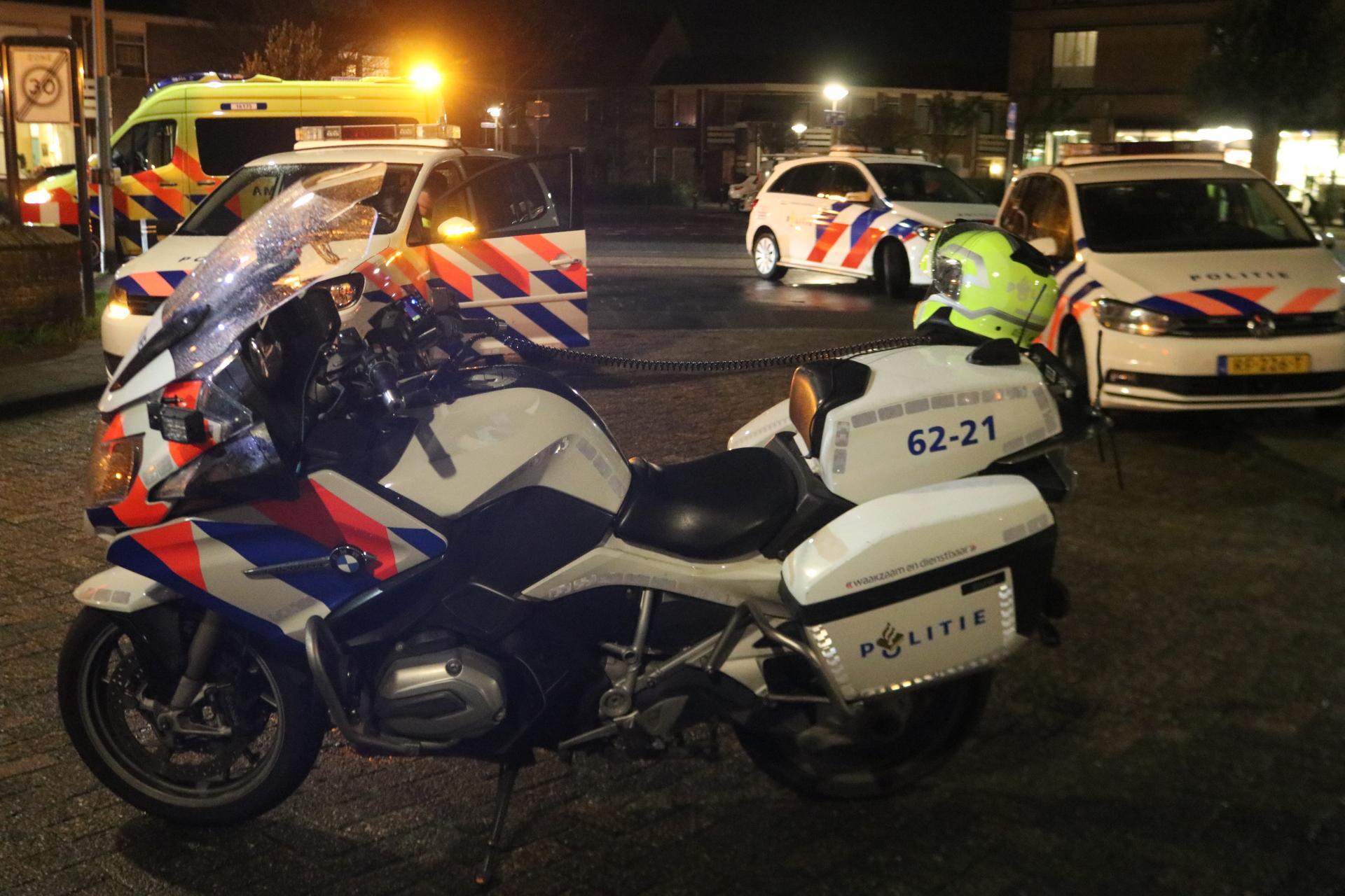 Fietsster en scooterrijder gewond bij botsing in Noordwijk