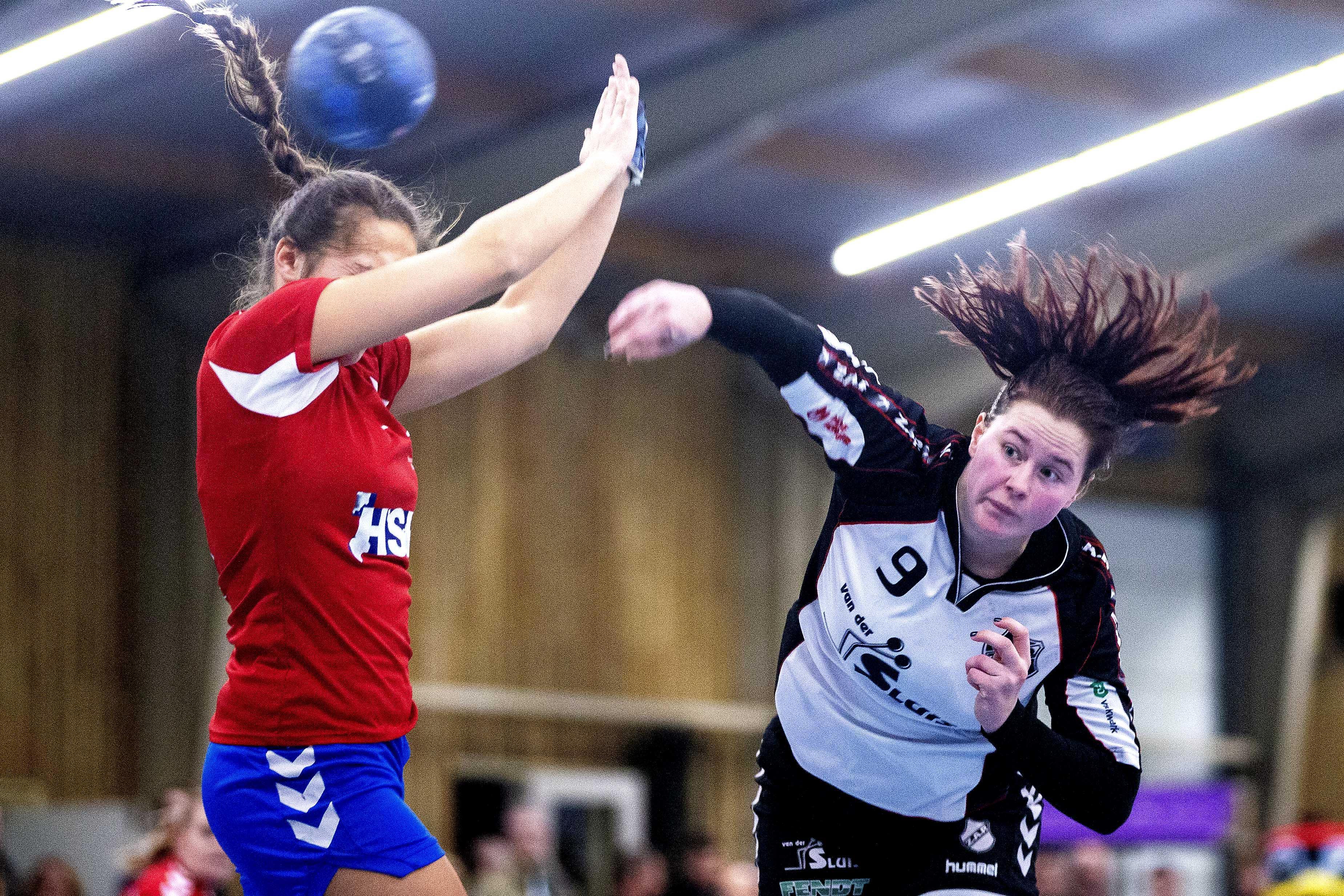 Stamgast ZAP ontbreekt niet in nacompetitie handbal, met dank aan keepster Tessa Oele