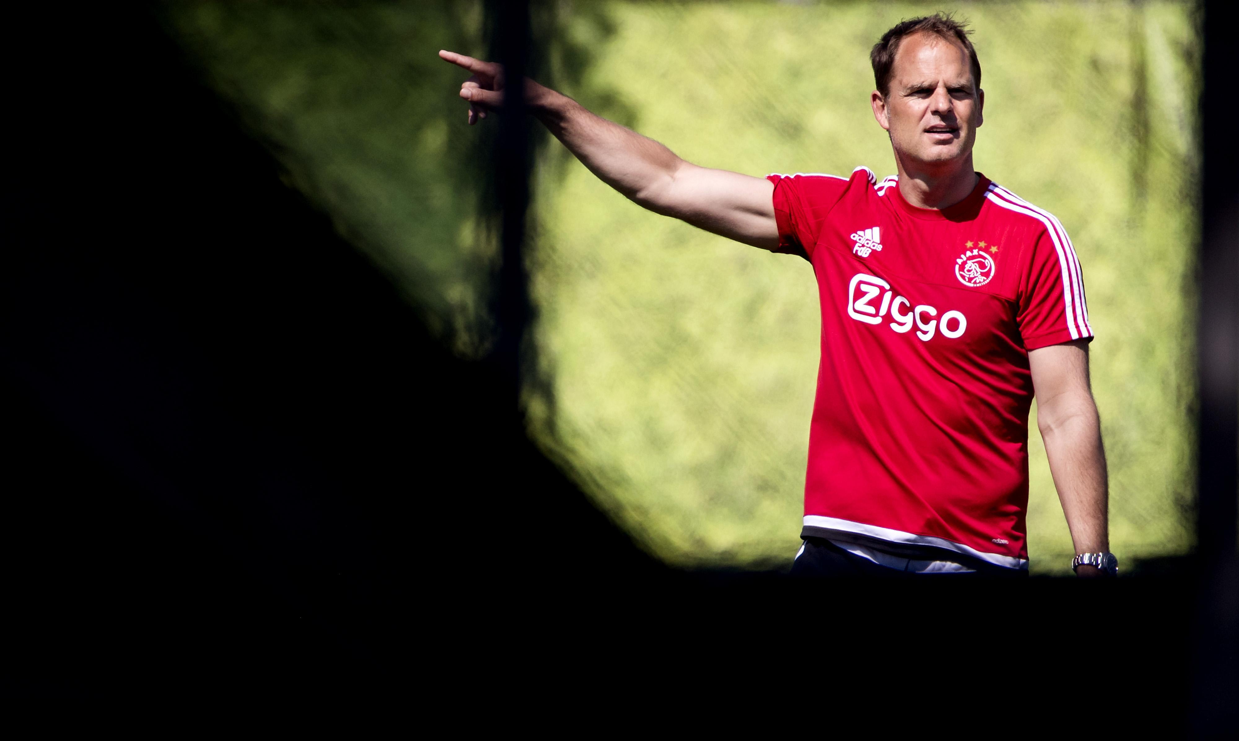 Frank de Boer bondscoach Oranje tot en met WK 2022