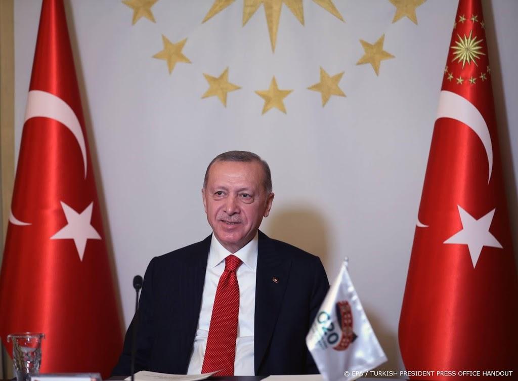 Erdogan hoopt dat Frankrijk snel af is van 'last' Macron
