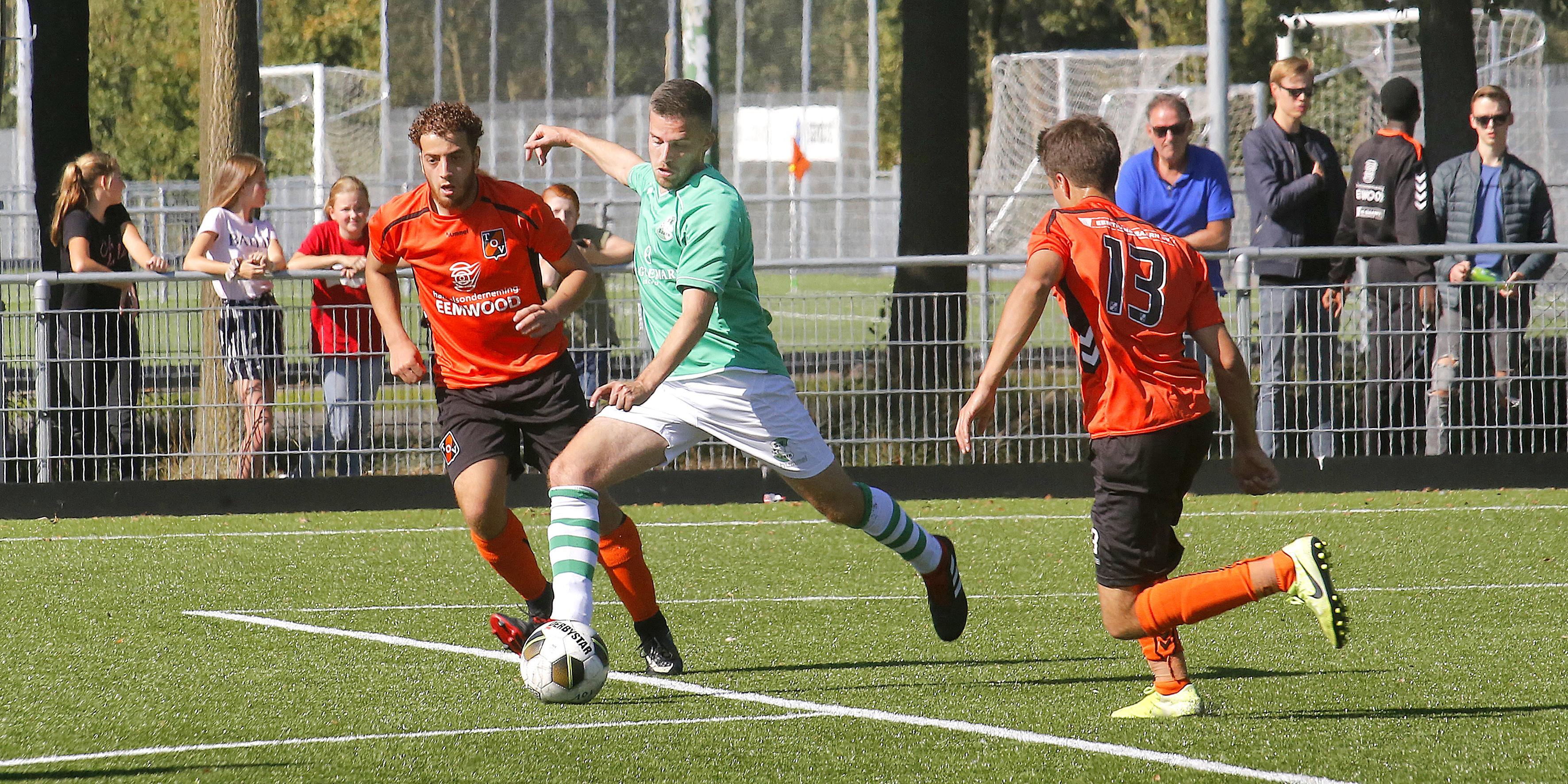 Derby tussen SV Baarn en TOV uitgesteld vanwege verwachte drukte