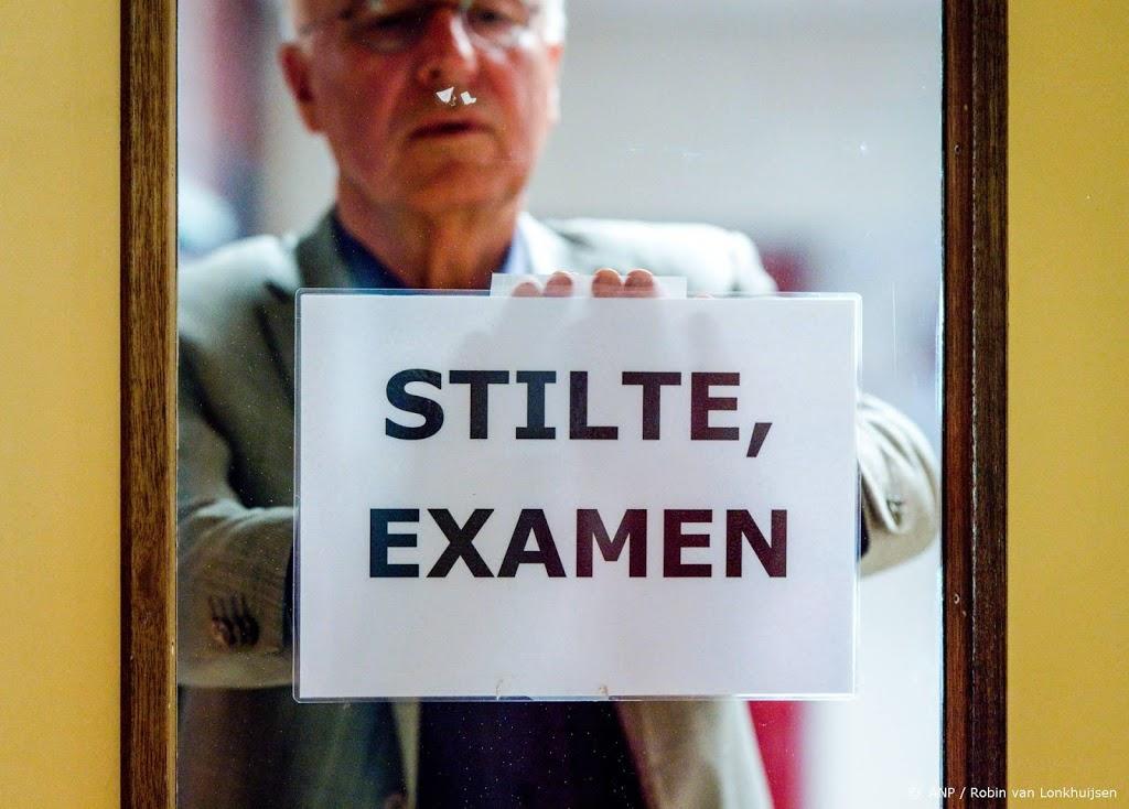 Slob over eindexamens: beeld minder gunstig dan gehoopt
