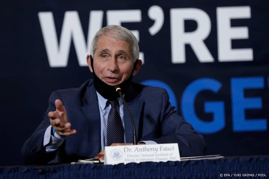 President Trump noemt coronatopadviseur Fauci een ramp