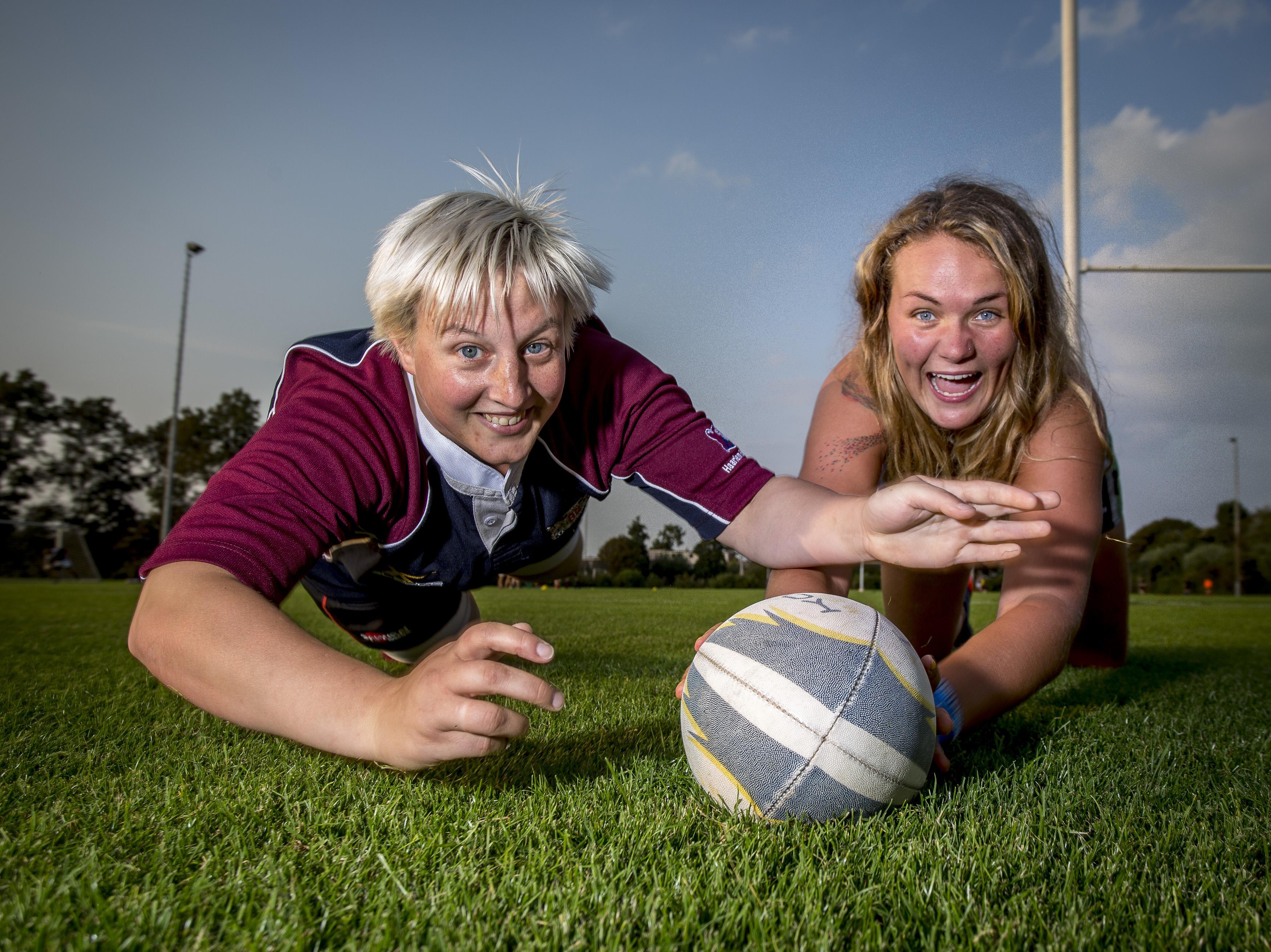 Eindelijk genoeg weerstand voor rugbysters Haarlem