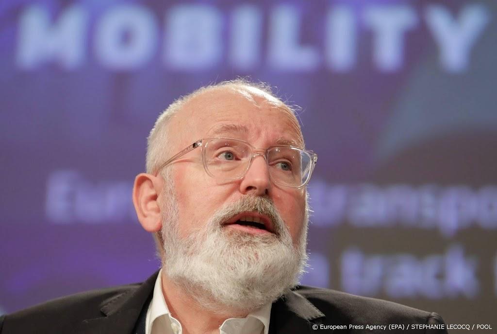 'Frans Timmermans niet in voor lijsttrekkerschap PvdA'