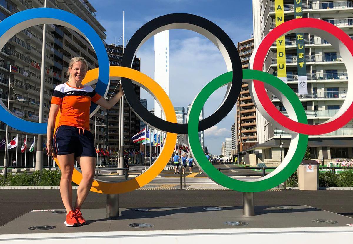 Een 'trutje uit de provincie' in de grote stad: Maike Willems is op de achtergrond bezig aan haar derde Olympische Spelen