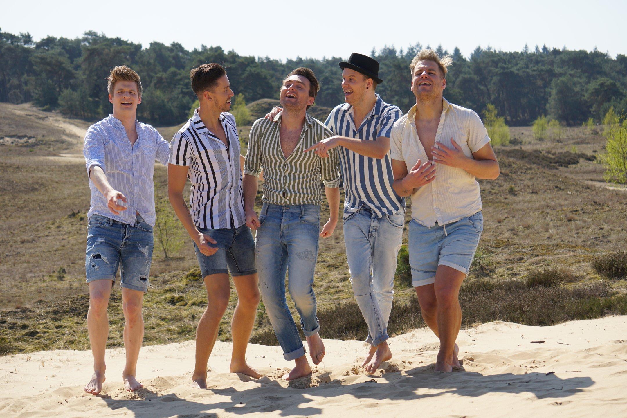 Deels Leidse boyband STORM deelnemer van talentenjacht op Gay Pride