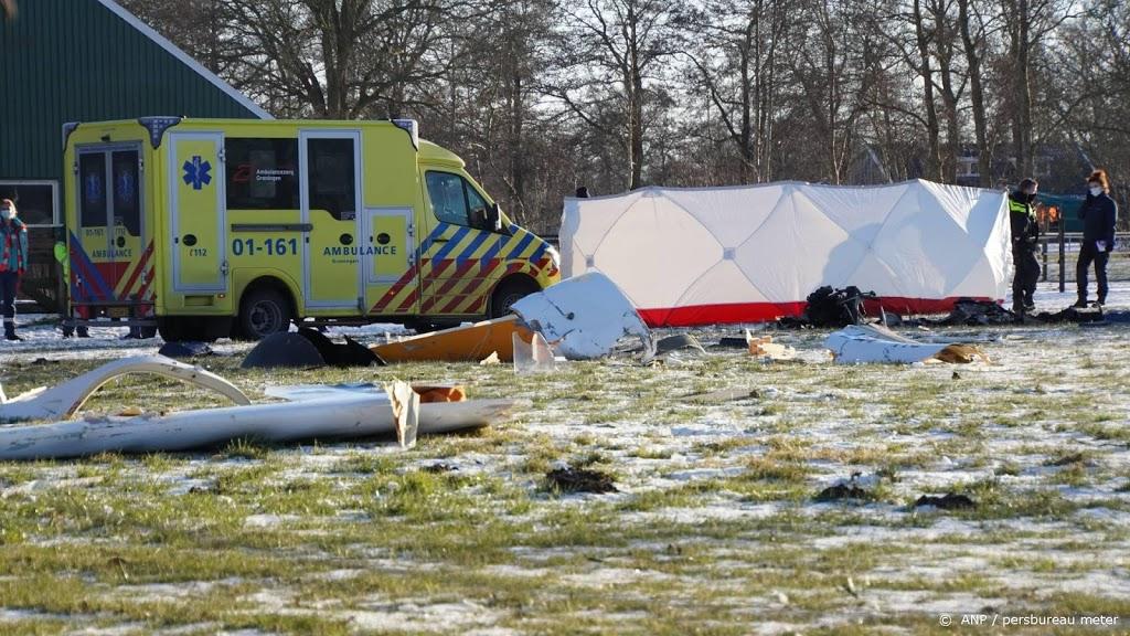 Piloot verongelukt door crash vliegtuigje in Groningse Kornhorn