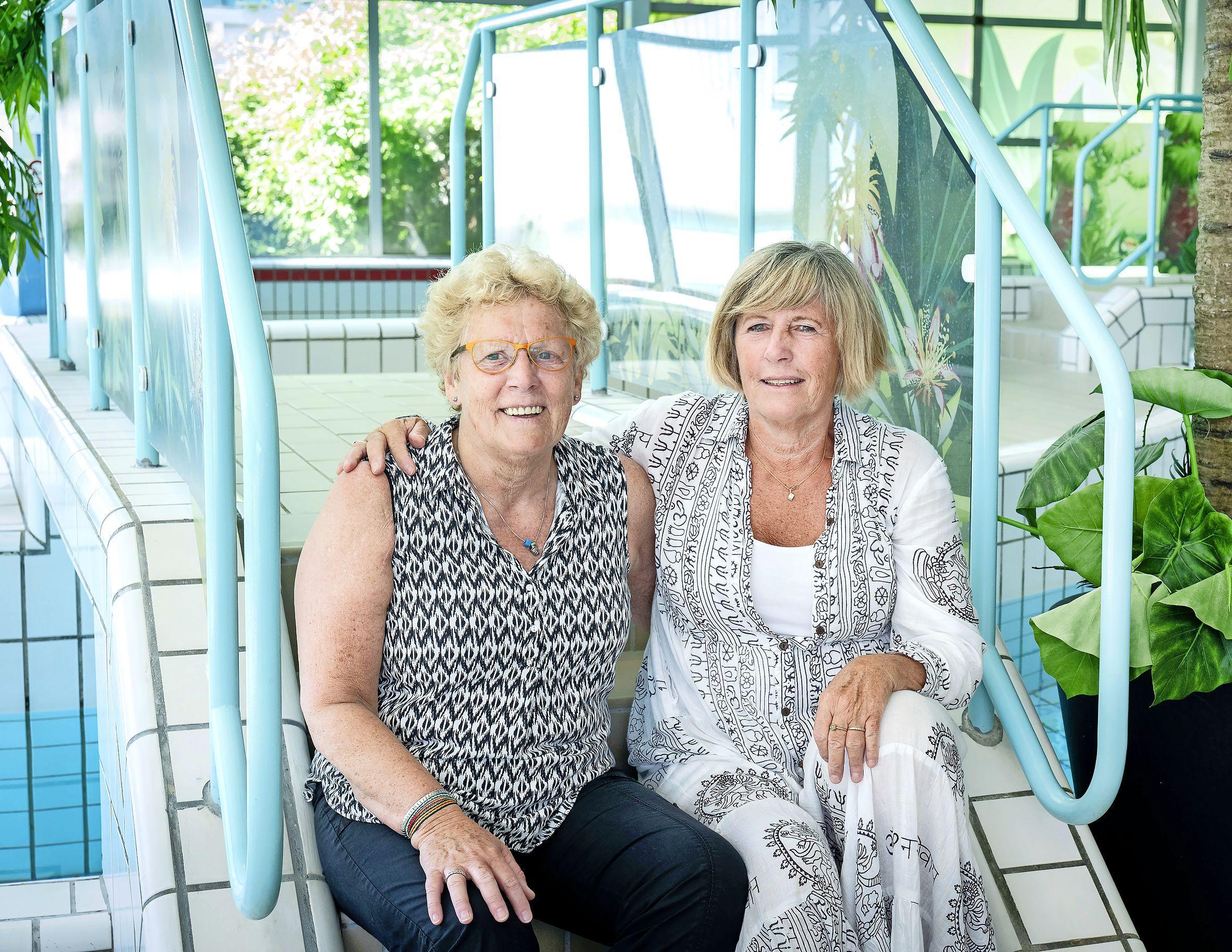 Iconen Sonja Ketting en Ingrid den Hartigh verlaten Haarlemse zwembaden na 49 en 43 jaar