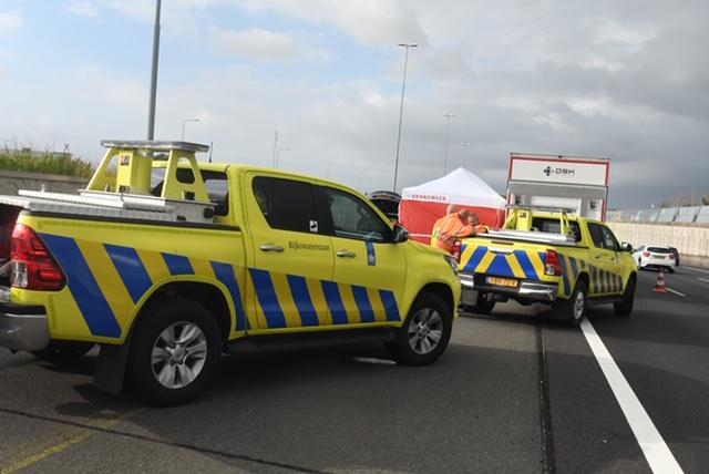 Automobilist om het leven gekomen bij ongeluk op A4 in Roelofarendsveen