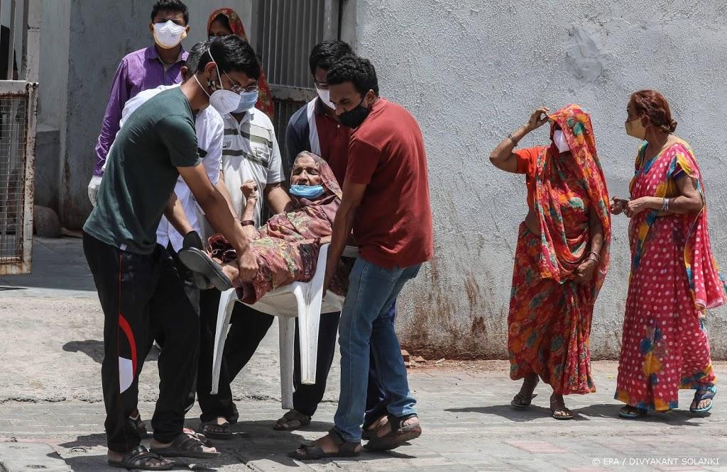 Weer 4000 coronadoden in India afgelopen etmaal