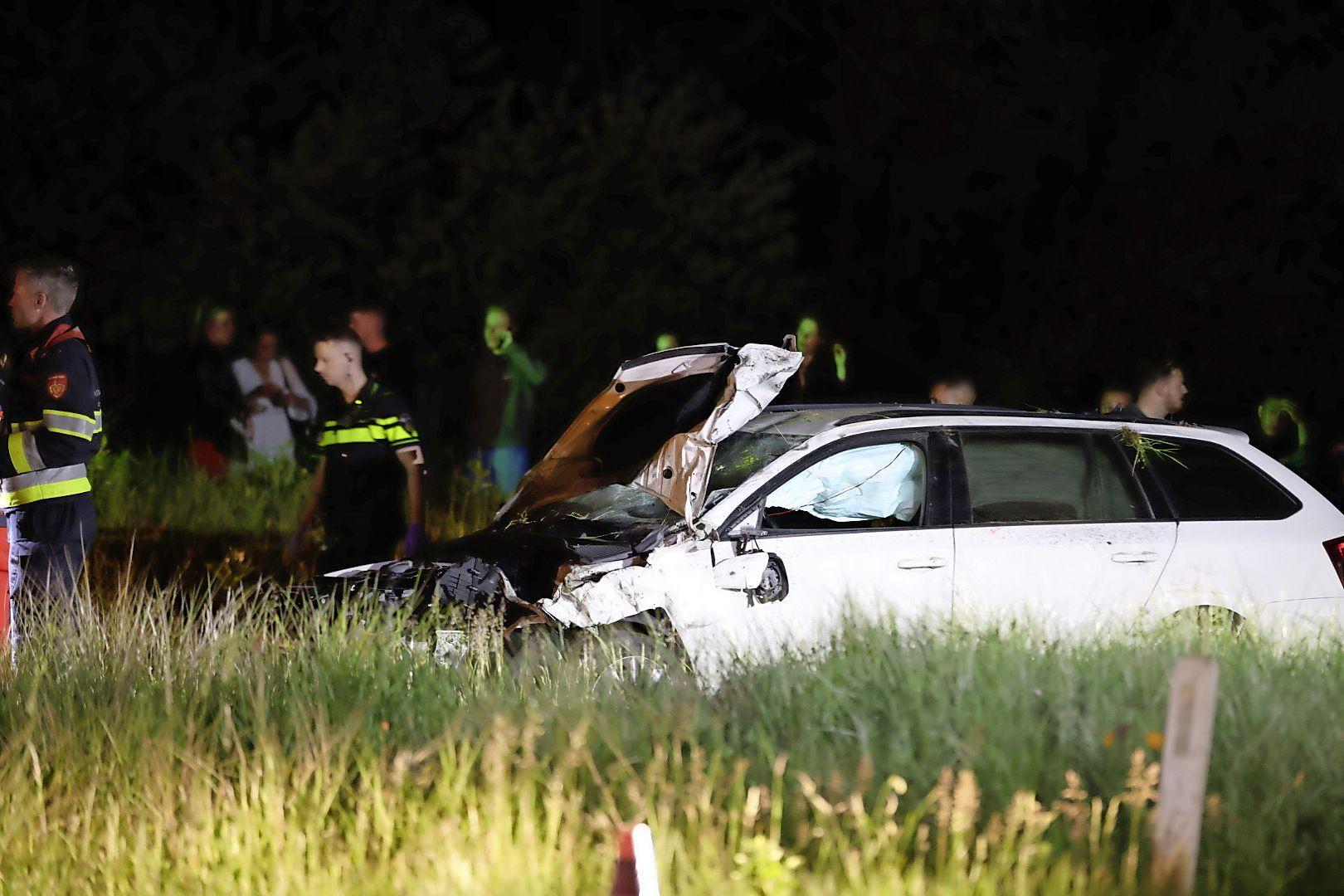 Twee dodelijke slachtoffers bij aanrijding op N200 tussen Bloemendaal en Overveen